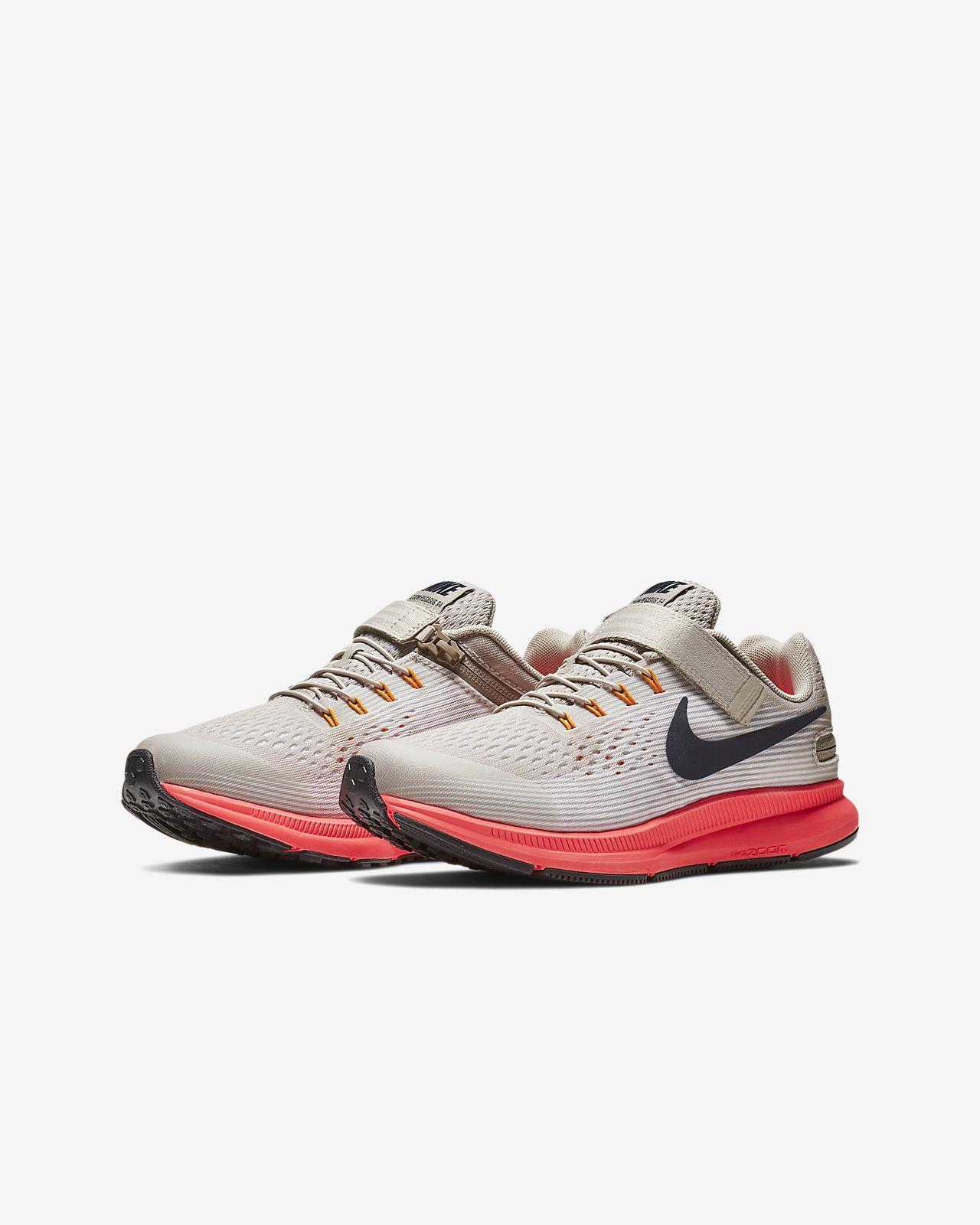 5b61a63aa5183 Nike Zoom Pegasus 34 FlyEase Little Big Kids  Running Shoe. Nike.com