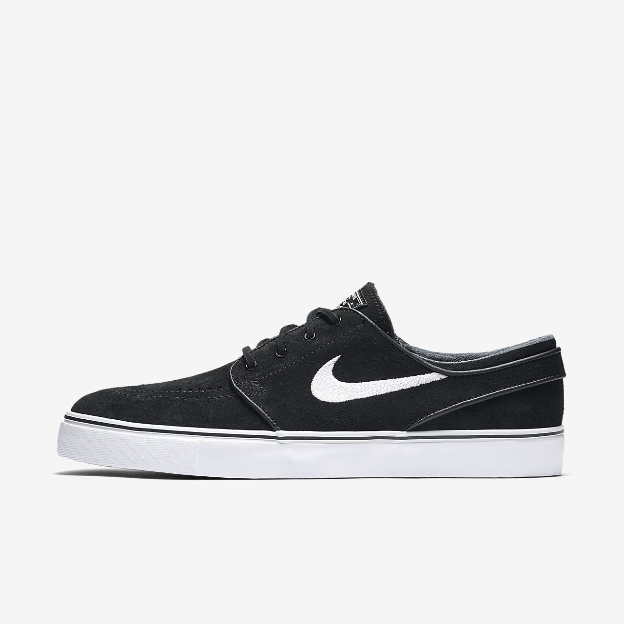Nike SB Zoom Stefan Janoski Boys Skateboarding Shoes Black/Brown/White vQ6111Q