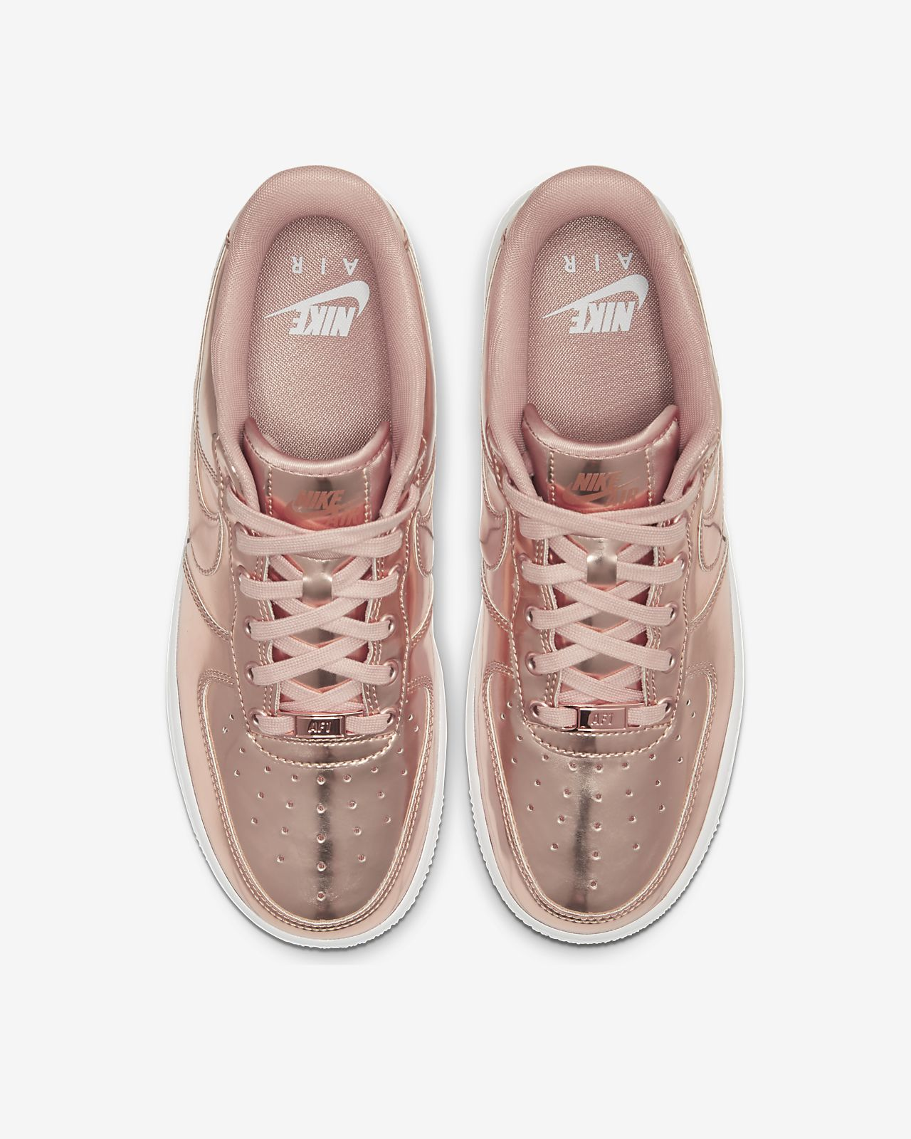 nike air force 1 femme gold