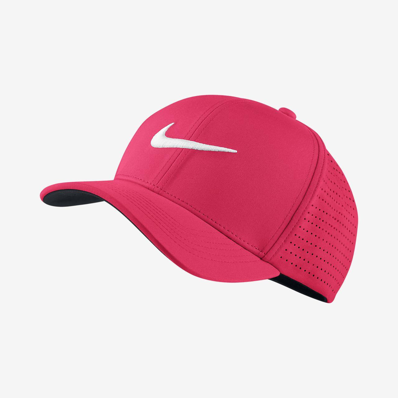 Gorro de golf ajustado Nike AeroBill Classic 99. Nike.com MX 4a3b1d91bd9