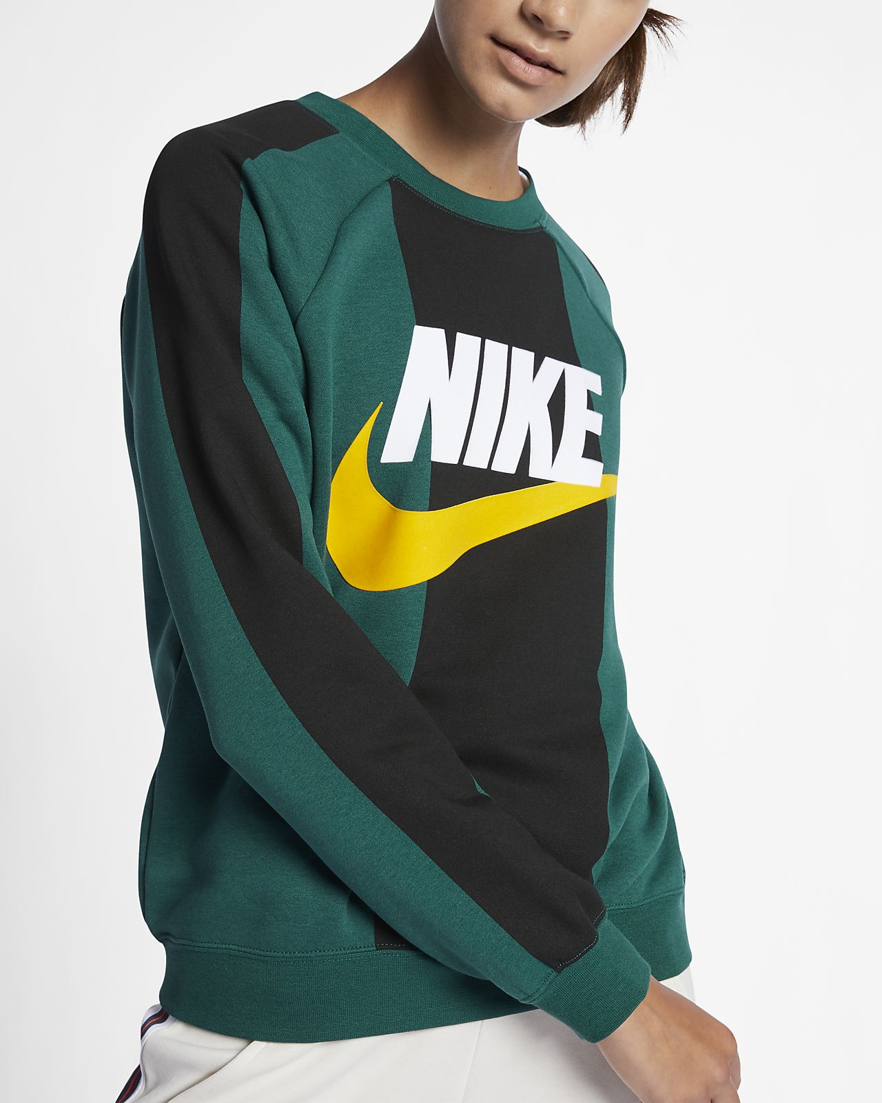 a3ce780f224d Low Resolution Nike Sportswear Women s Fleece Crew Nike Sportswear Women s  Fleece Crew