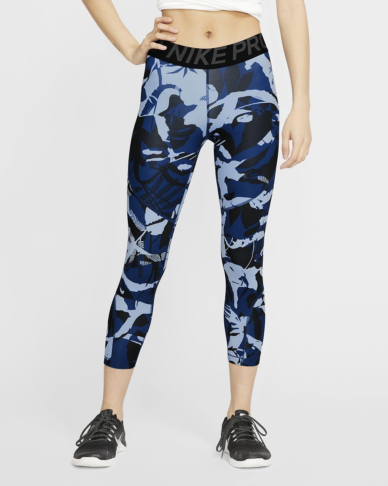 Corsaire imprimé Nike Pro pour Femme
