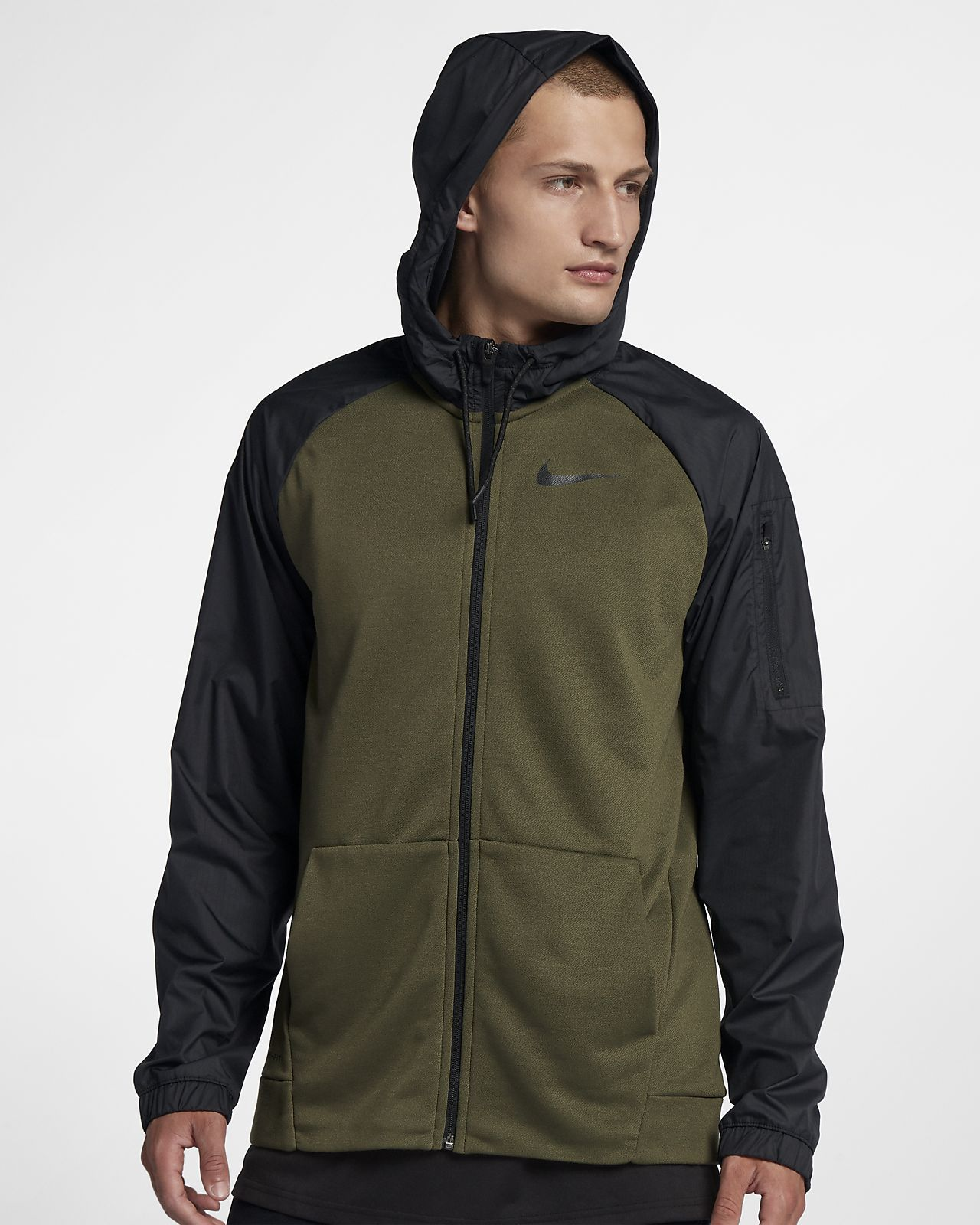 856e6d7e Nike Dri-FIT Men's Utility Full-Zip Training Hoodie. Nike.com CA