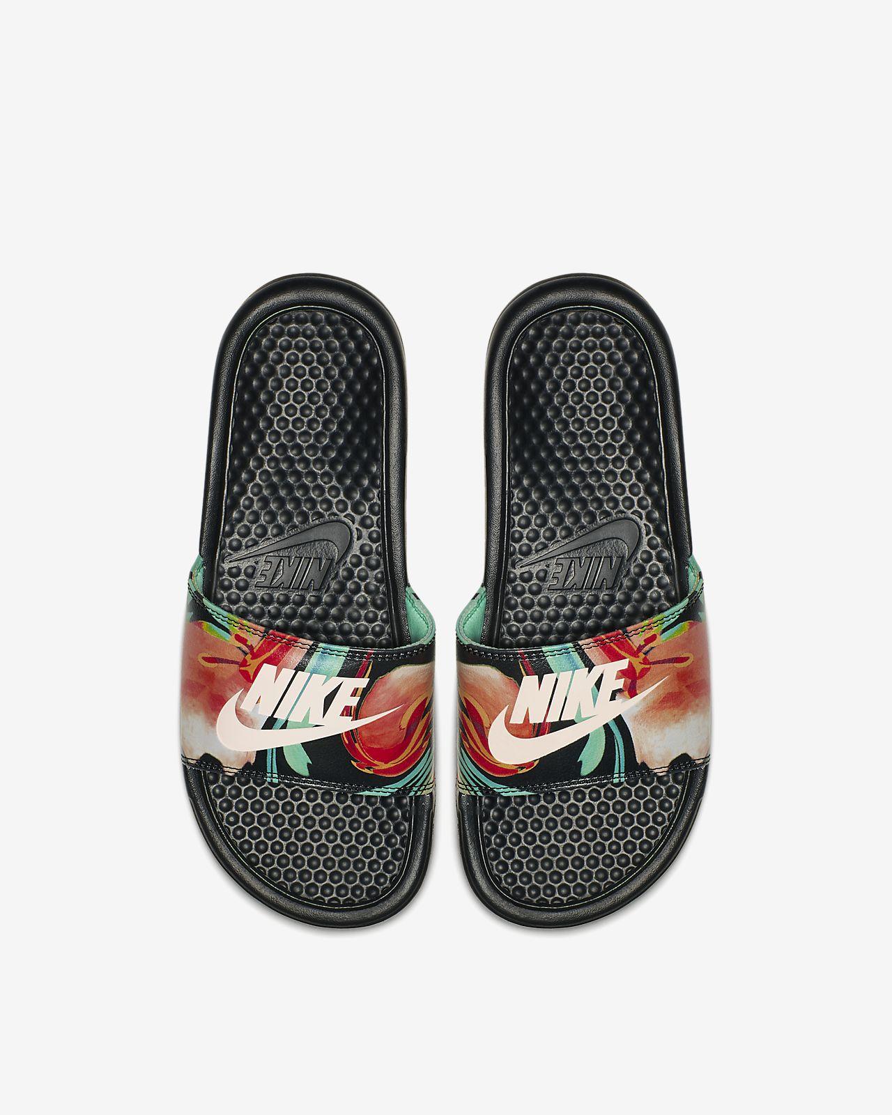 9cf90fd37ed Claquette Nike Benassi JDI Floral pour Femme. Nike.com BE