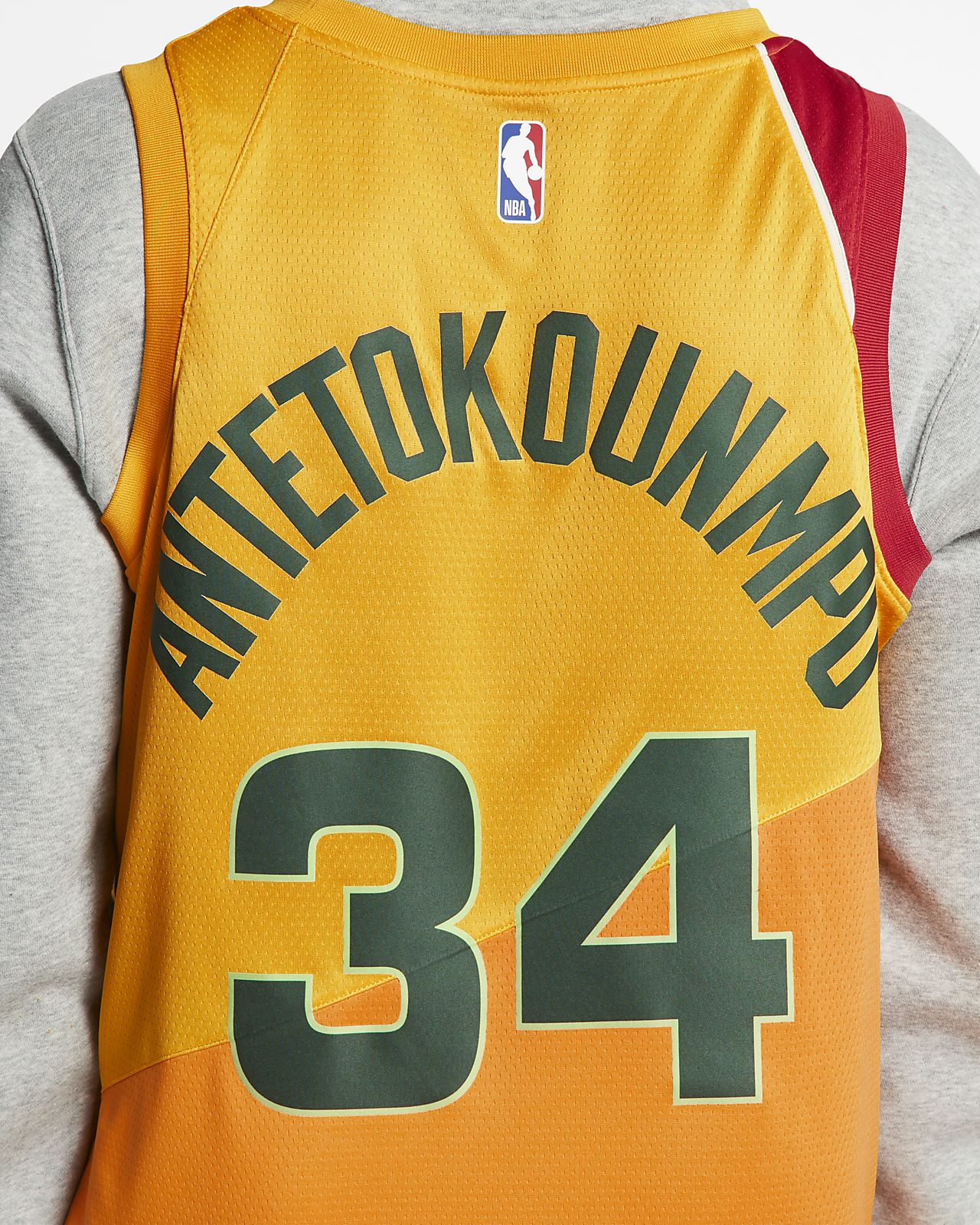 low priced d6d67 a408b Giannis Antetokounmpo City Edition Swingman (Milwaukee Bucks) Men's Nike  NBA Connected Jersey