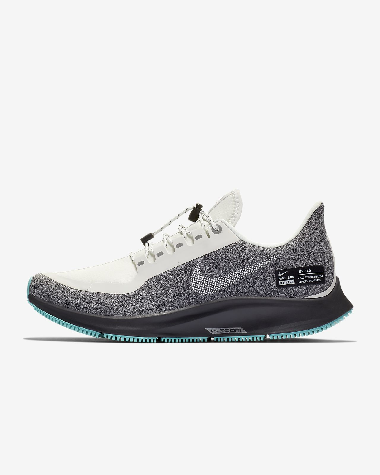 6ce1212f941da Nike Air Zoom Pegasus 35 Shield Water-Repellent Damen-Laufschuh ...