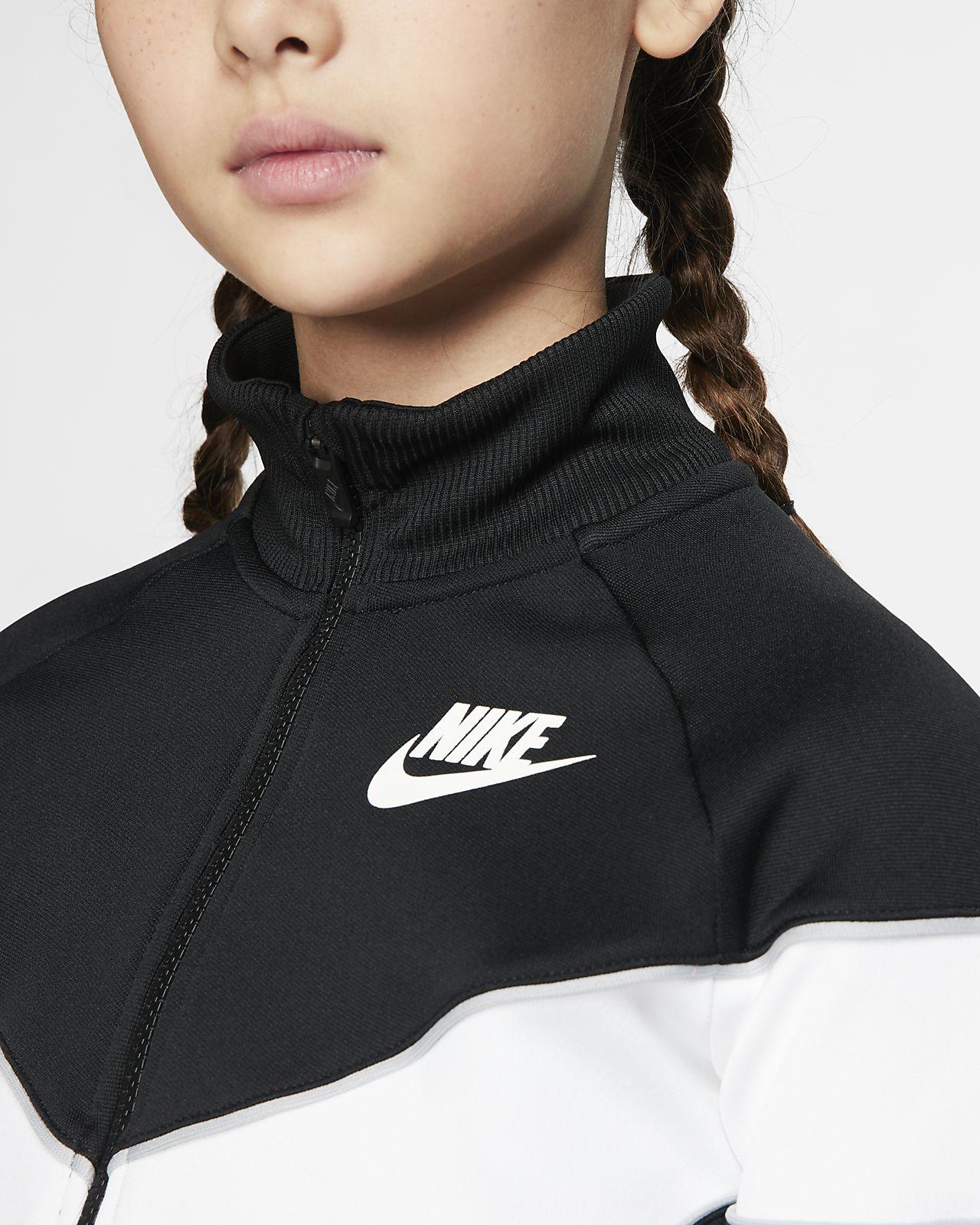 Con Chaqueta Heritage Nike Cremallera Completa Niña Sportswear lFKJc31uT