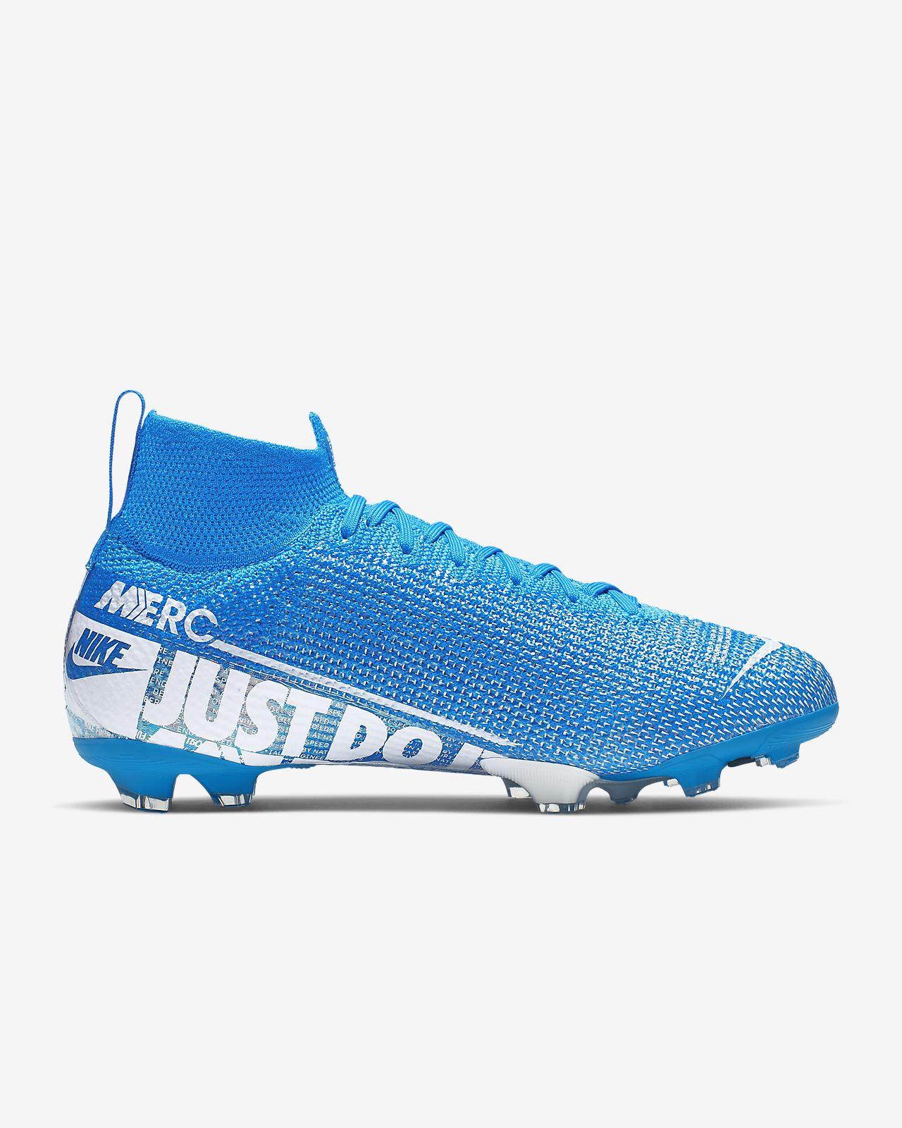 Nike Jr. Mercurial Superfly 7 Elite FG Botas de fútbol para terreno firme Niñoa