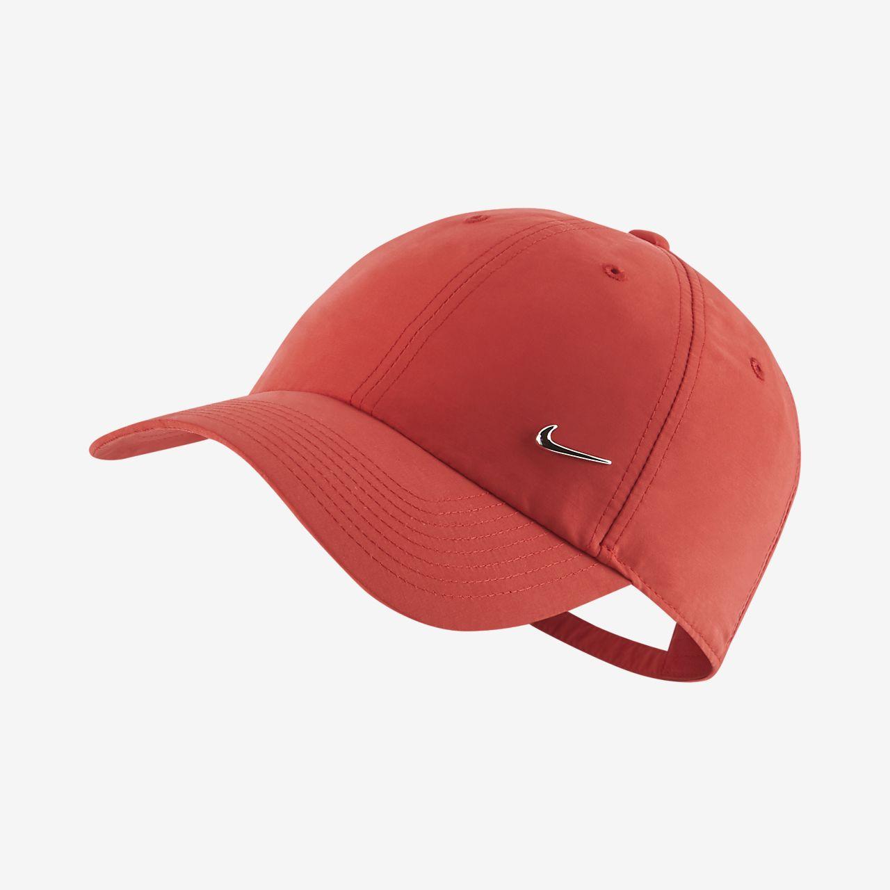 Nike Sportswear Metal Swoosh Logo Adjustable Hat. Nike.com SG bccbd34c06