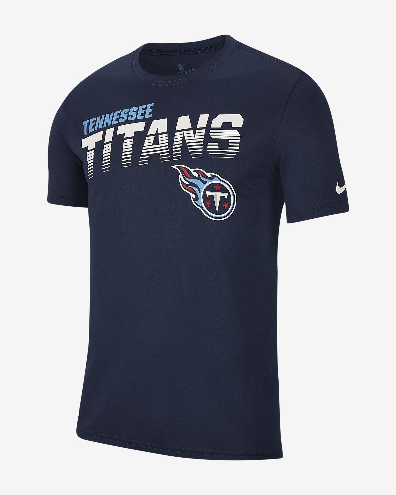 Playera de manga larga para hombre Nike Legend (NFL Titans)