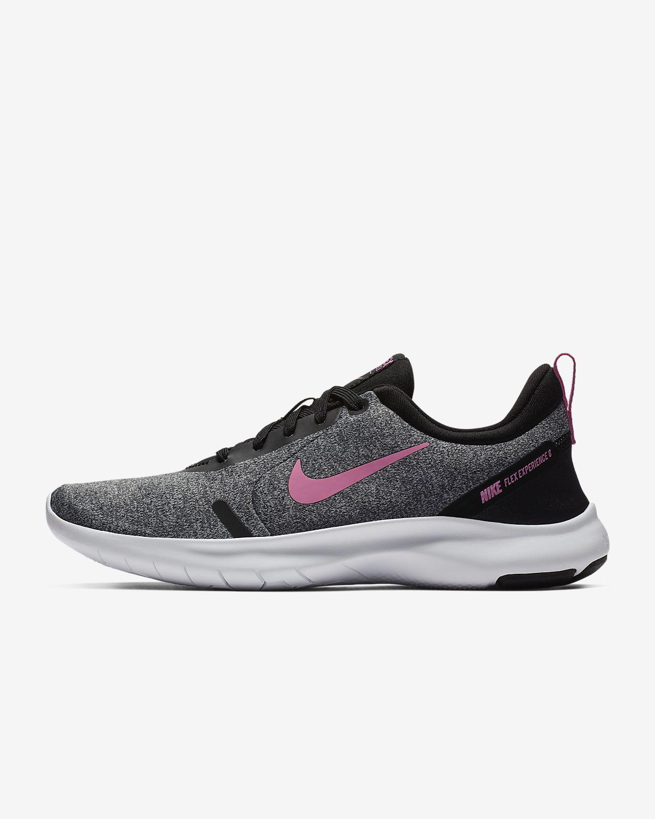 Tenis Nike Flex Experience RN 8 color Negro para Mujer