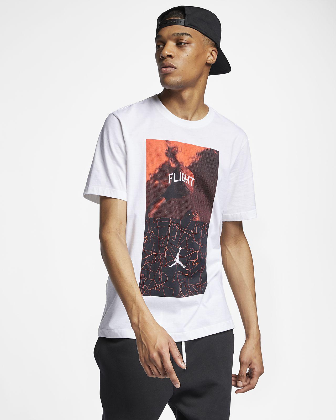 Jordan Legacy Flight Nostalgia AJ 4 Men's T-Shirt