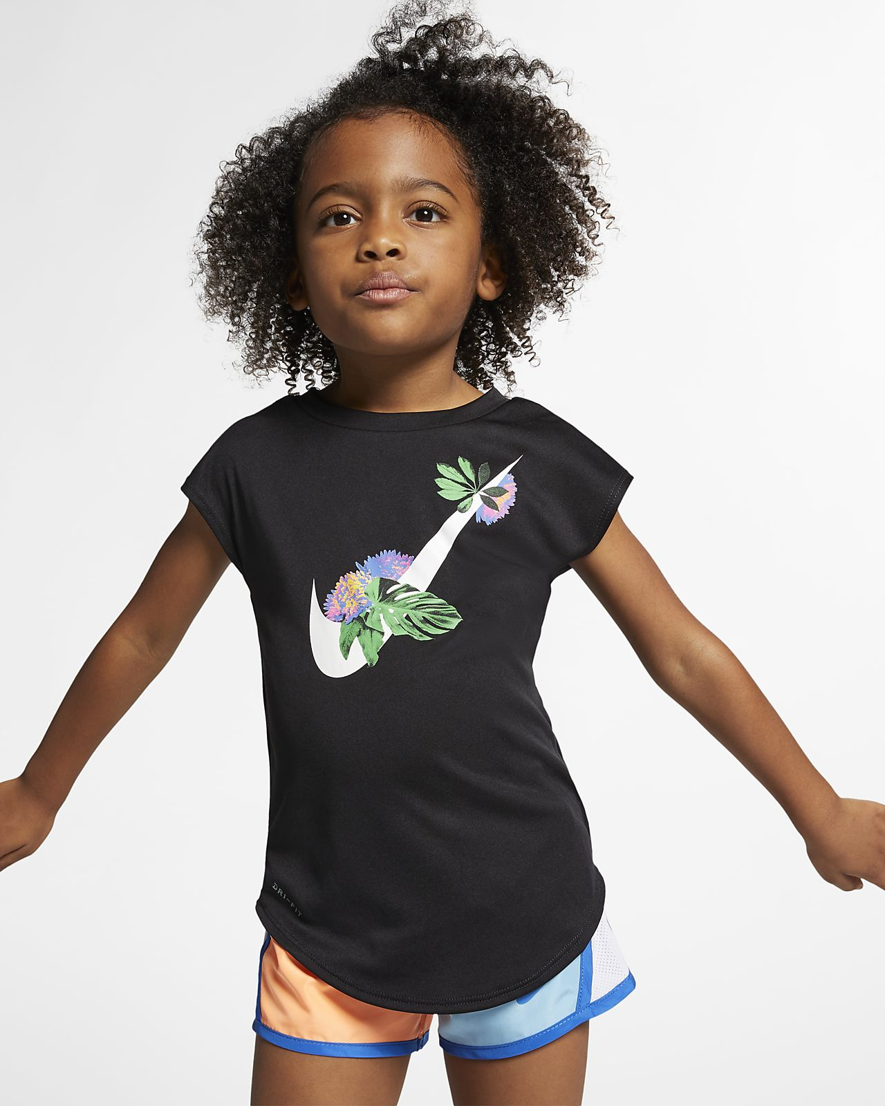 Nike Dri-FIT Toddler Floral T-Shirt