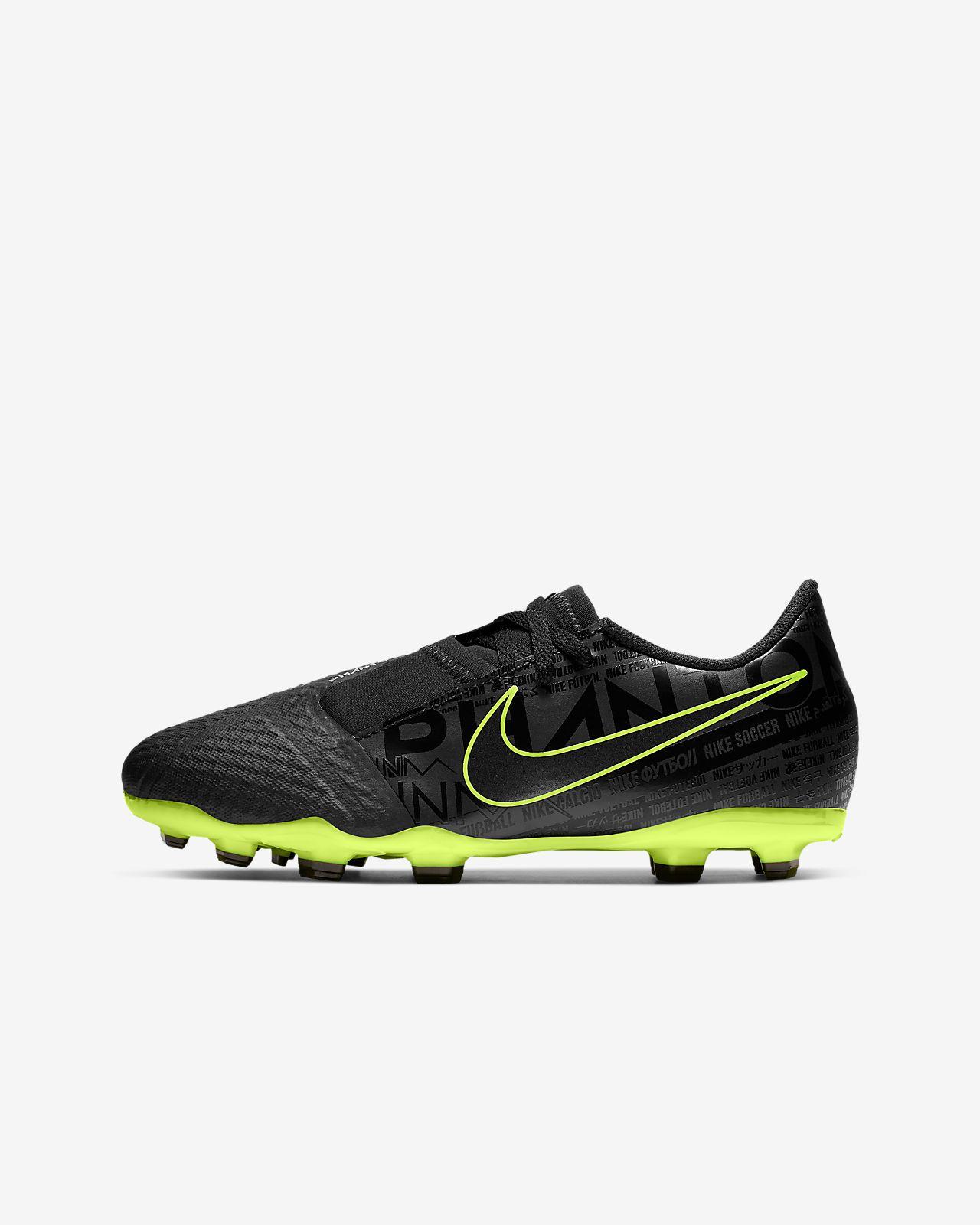 Chaussure de football à crampons pour terrain sec Nike Jr. Phantom Venom Academy FG pour Enfant plus âgé