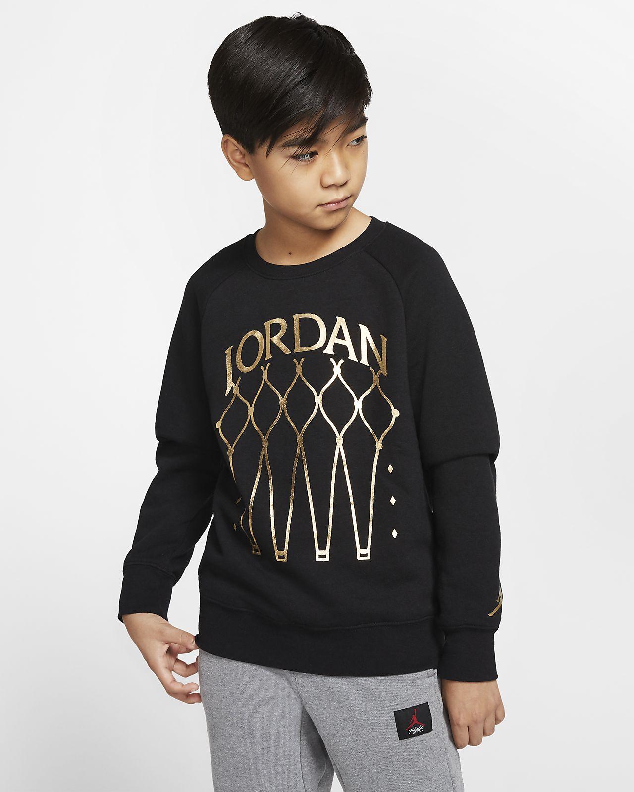 Jordan Jumpman Older Kids' (Boys') Fleece Crew