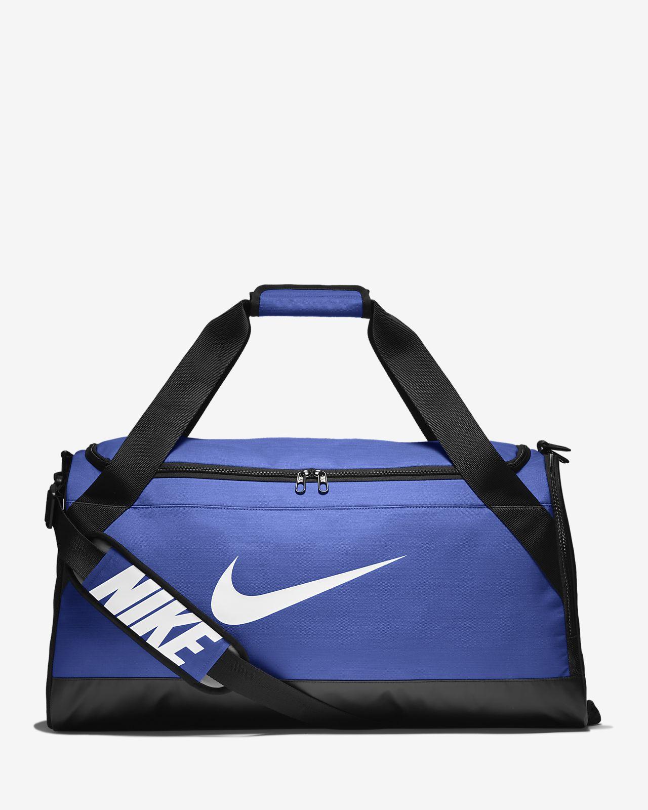 Nouveau Sac de sport de training Nike Sportswear Brasilia (taille moyenne  XY23