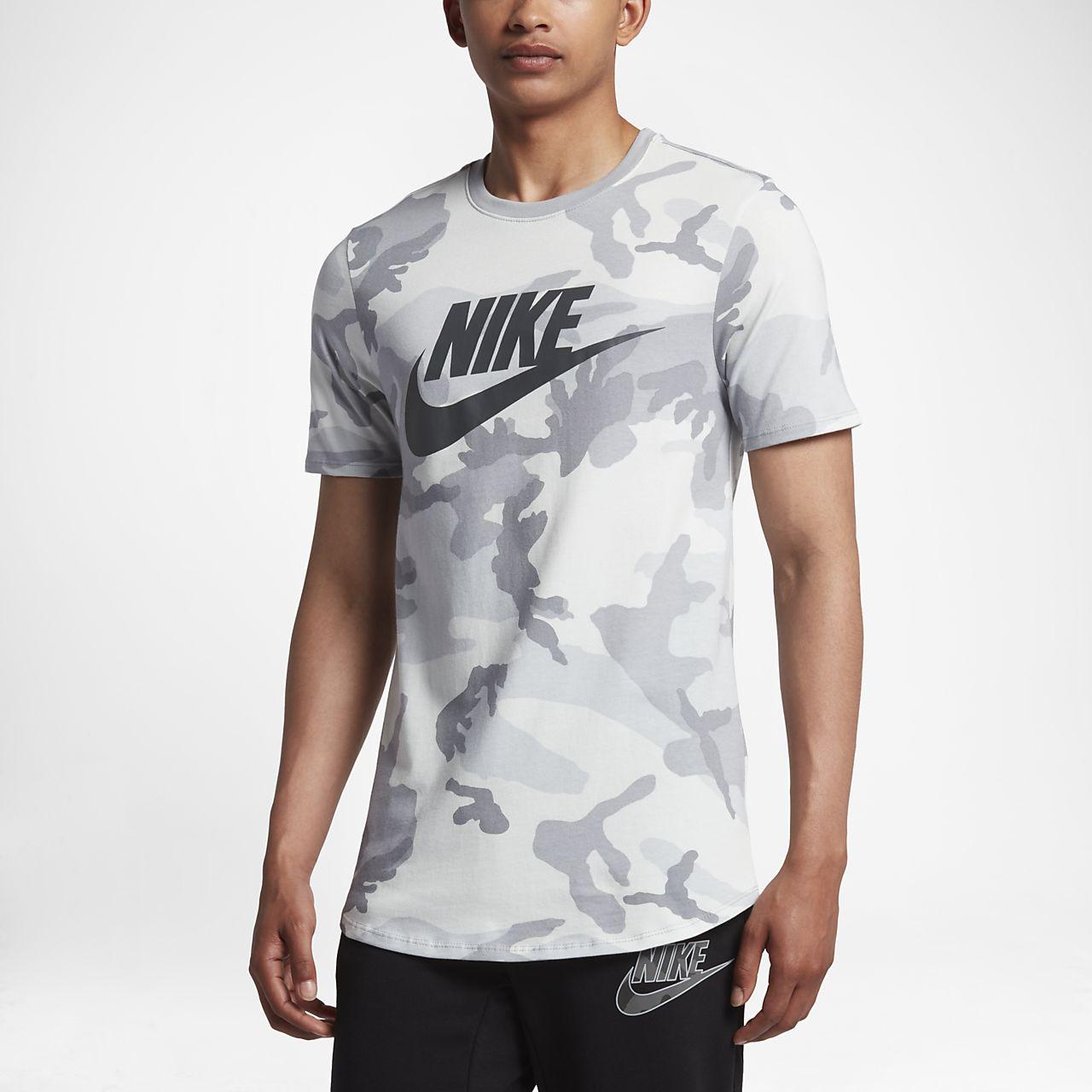 ... Nike Sportswear Men's Camo T-Shirt