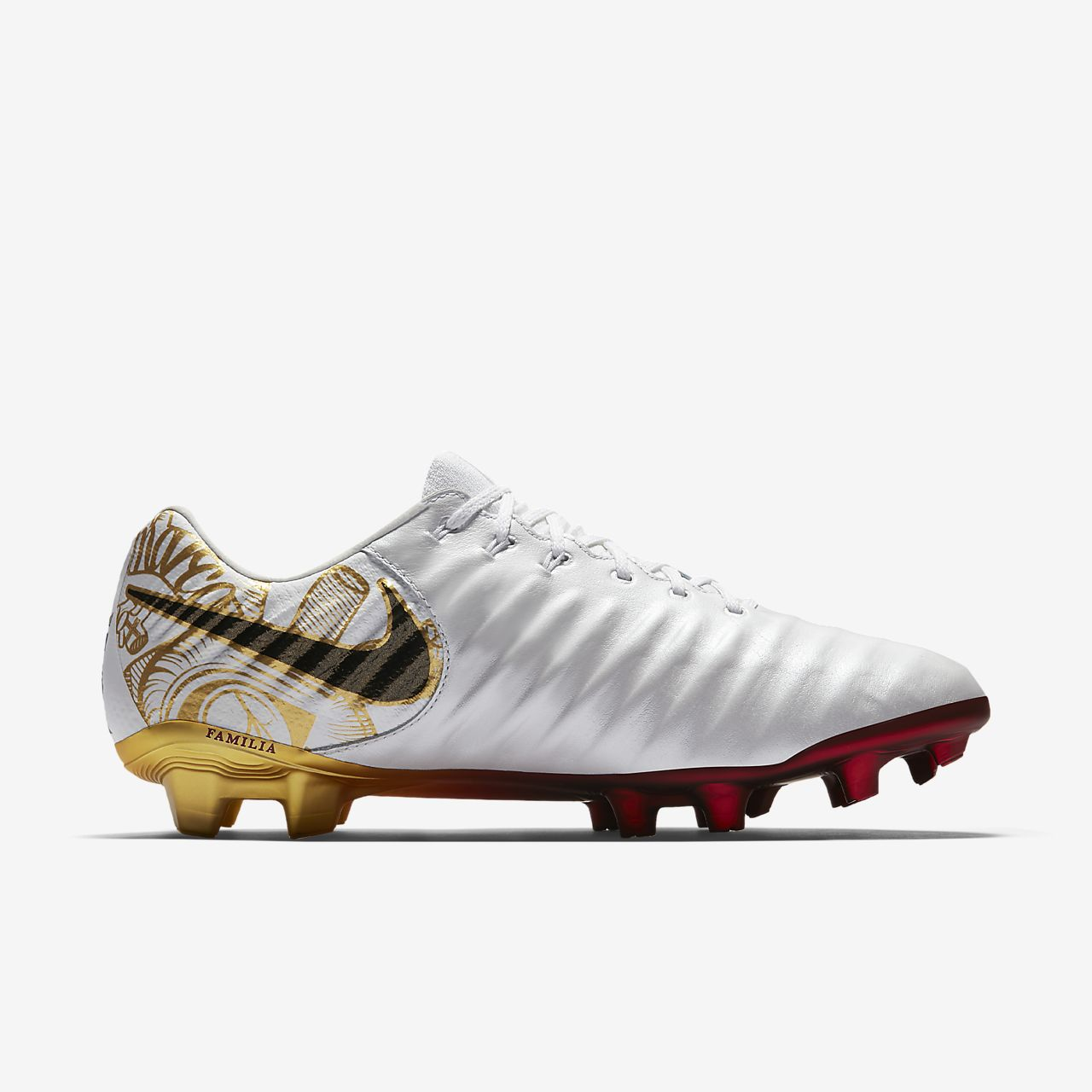 Nike Tiempo Legend VII SE Sergio Ramos Firm-Ground Women's Football Shoes White mX7282Q