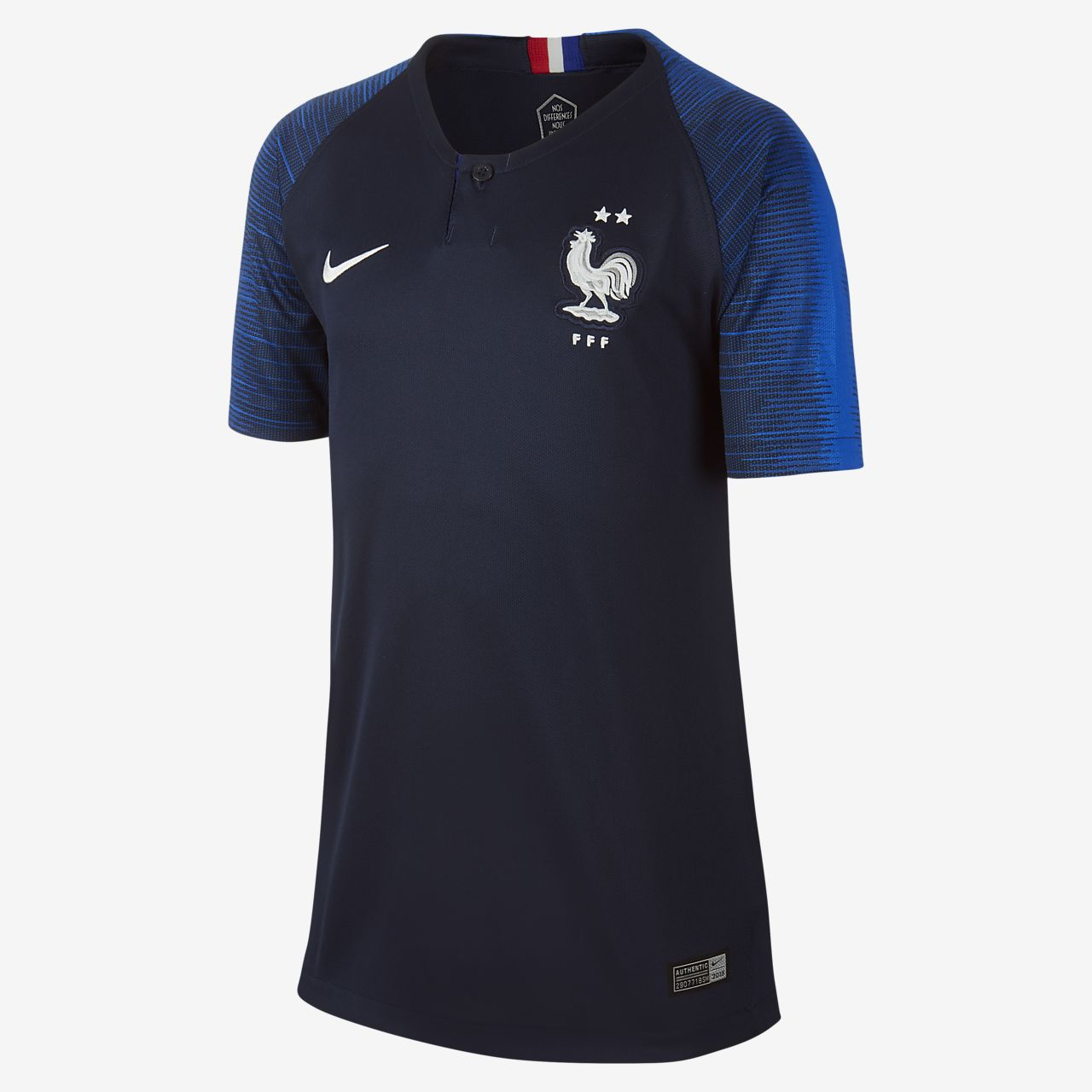 2018 FFF Stadium Home Older Kids' Football Shirt
