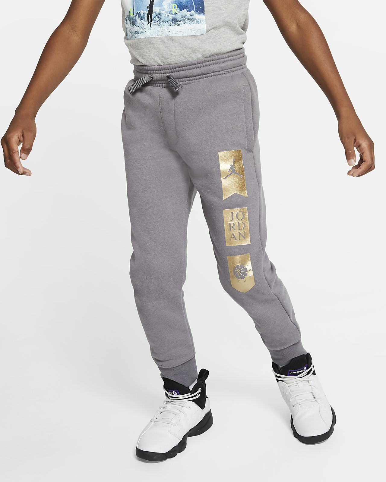Jordan Younger Kids' Fleece Joggers