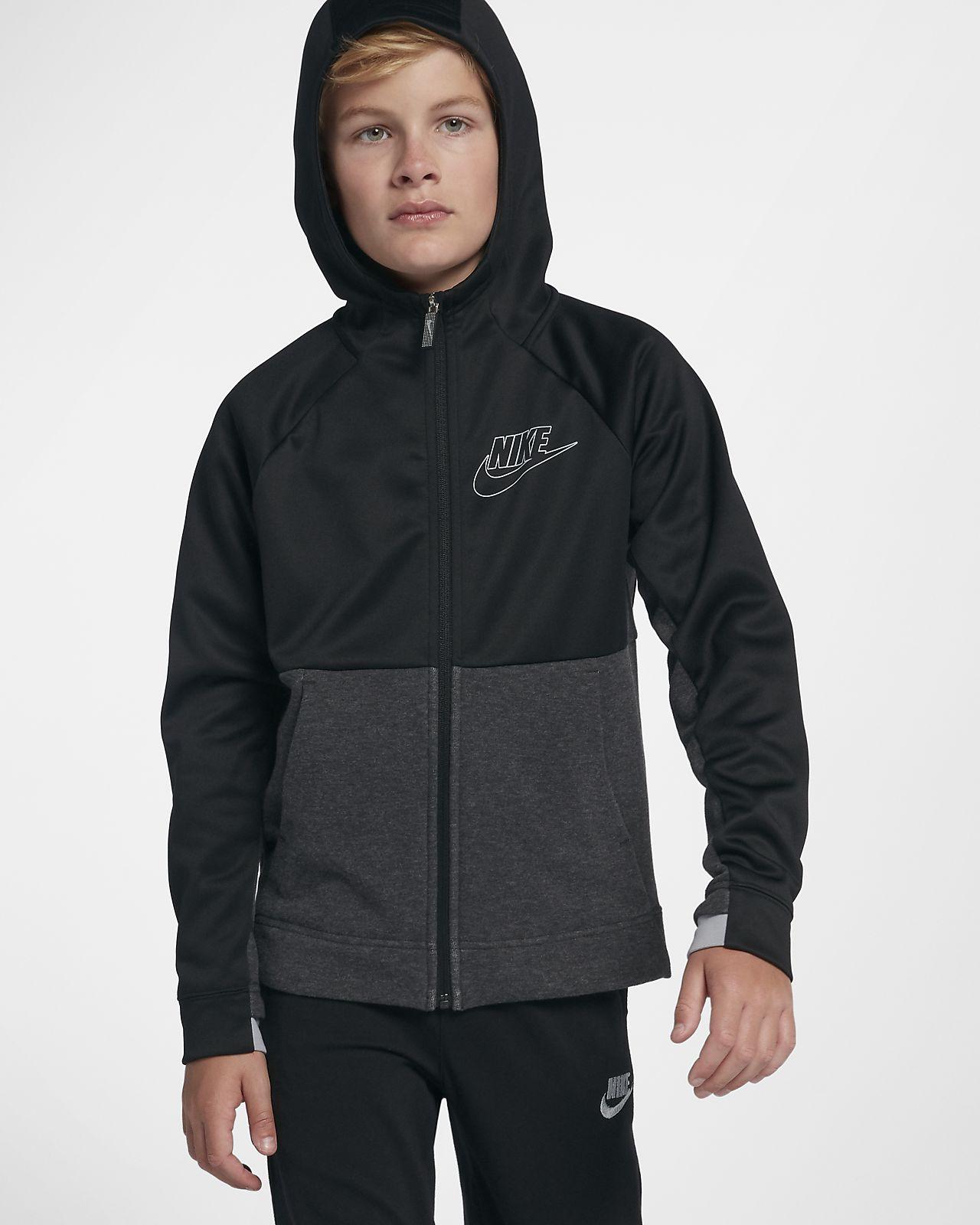 56499a50 Nike Sportswear My Nike hettejakke til store barn (gutt). Nike.com NO