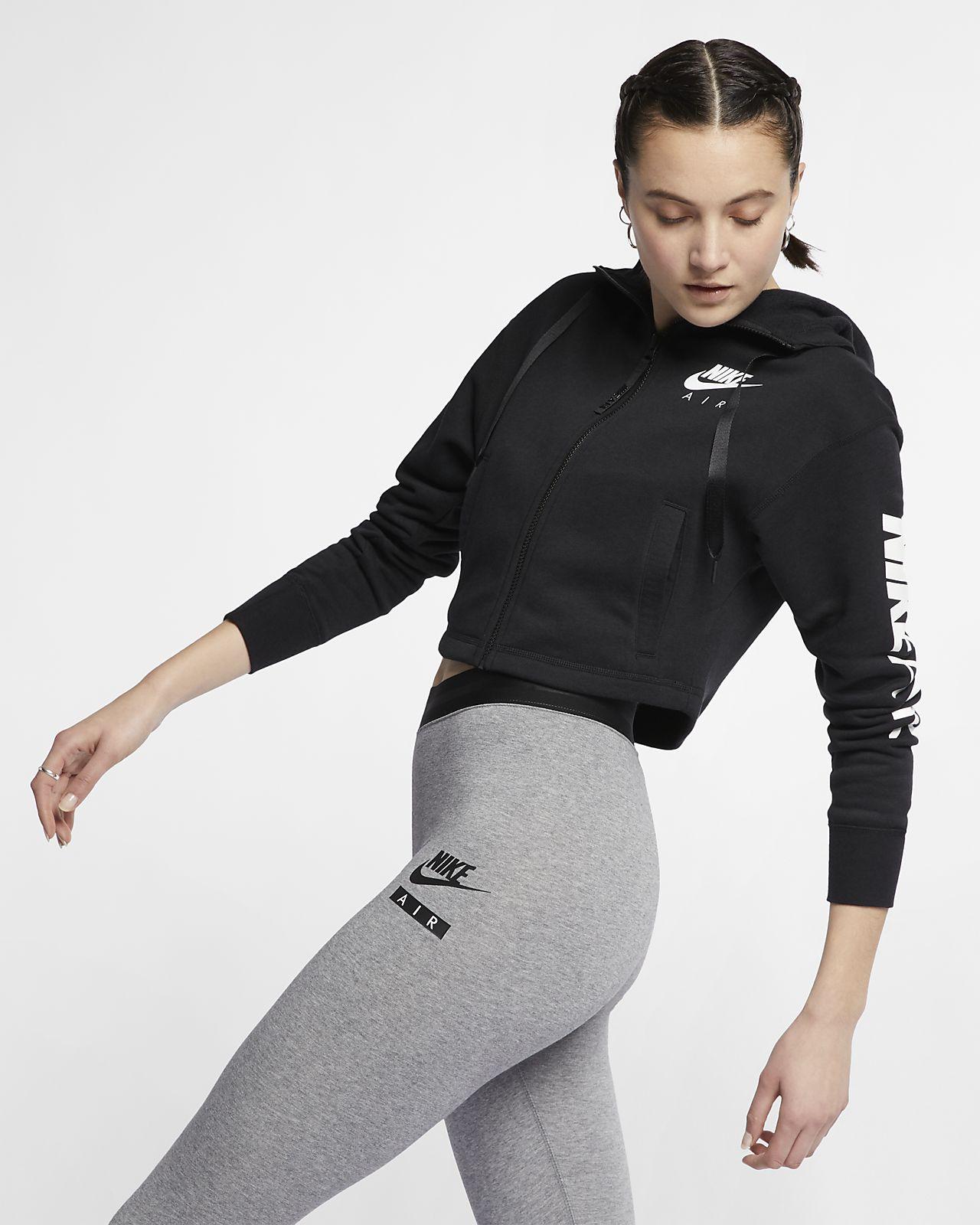 Женская флисовая худи с молнией во всю длину Nike Air