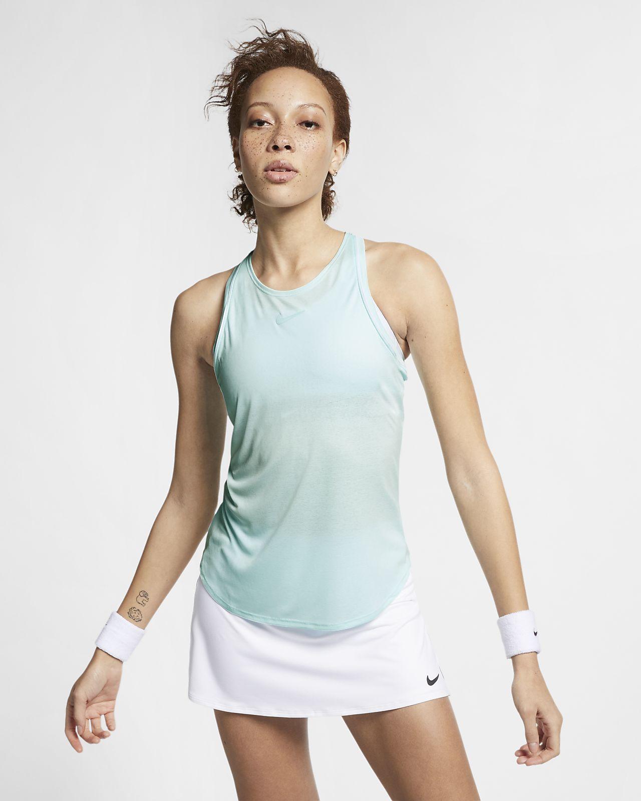 NikeCourt Dri-FIT Camiseta de tirantes de tenis - Mujer