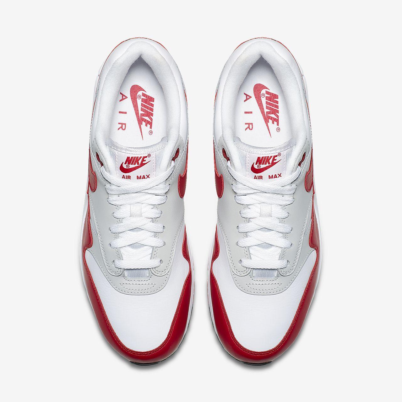 Nike Women Air Max 90 1 (white university red neutral grey black)