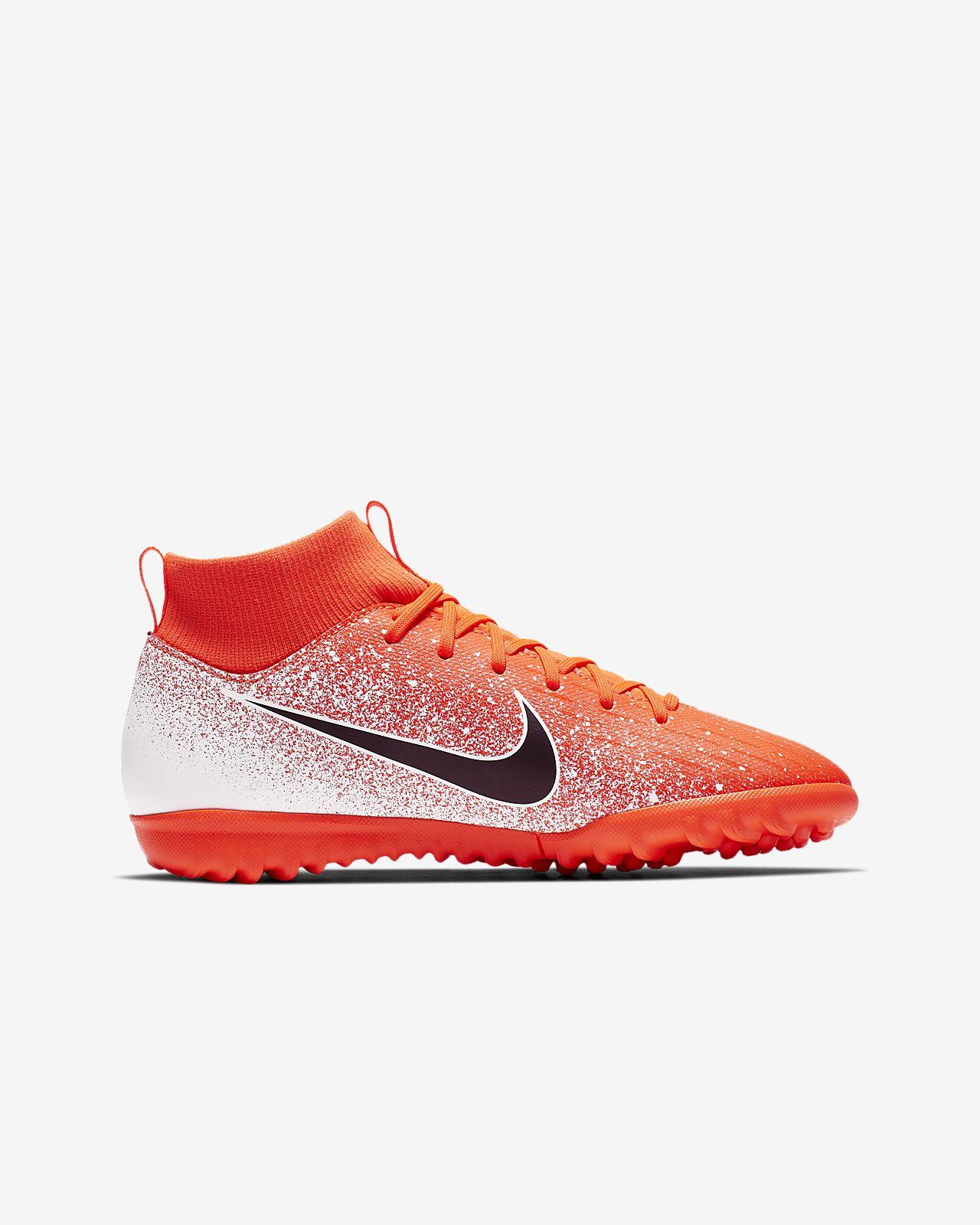 the latest 92a53 8ad40 ... Nike Jr. SuperflyX 6 Academy TF Botas de fútbol para hierba artificial  o moqueta -