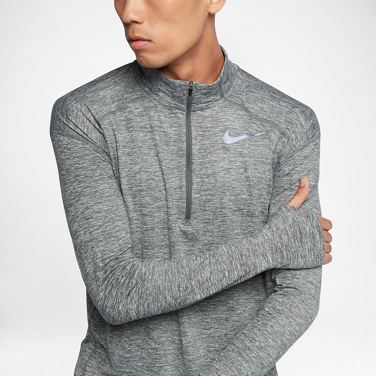 ae673772 Nike Dri-FIT Element Men's Long-Sleeve Half-Zip Running Top. Nike.com PT