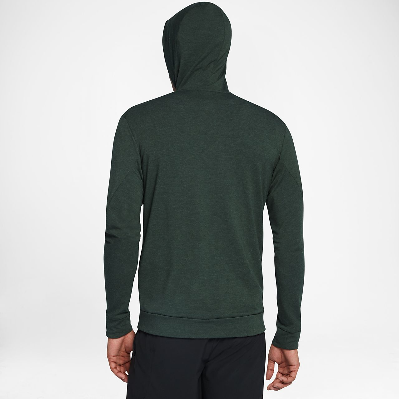 Nike Mens Training Hoodie - Nike Dri-FIT Fleece Full-Zip University Red/Black K80n5137