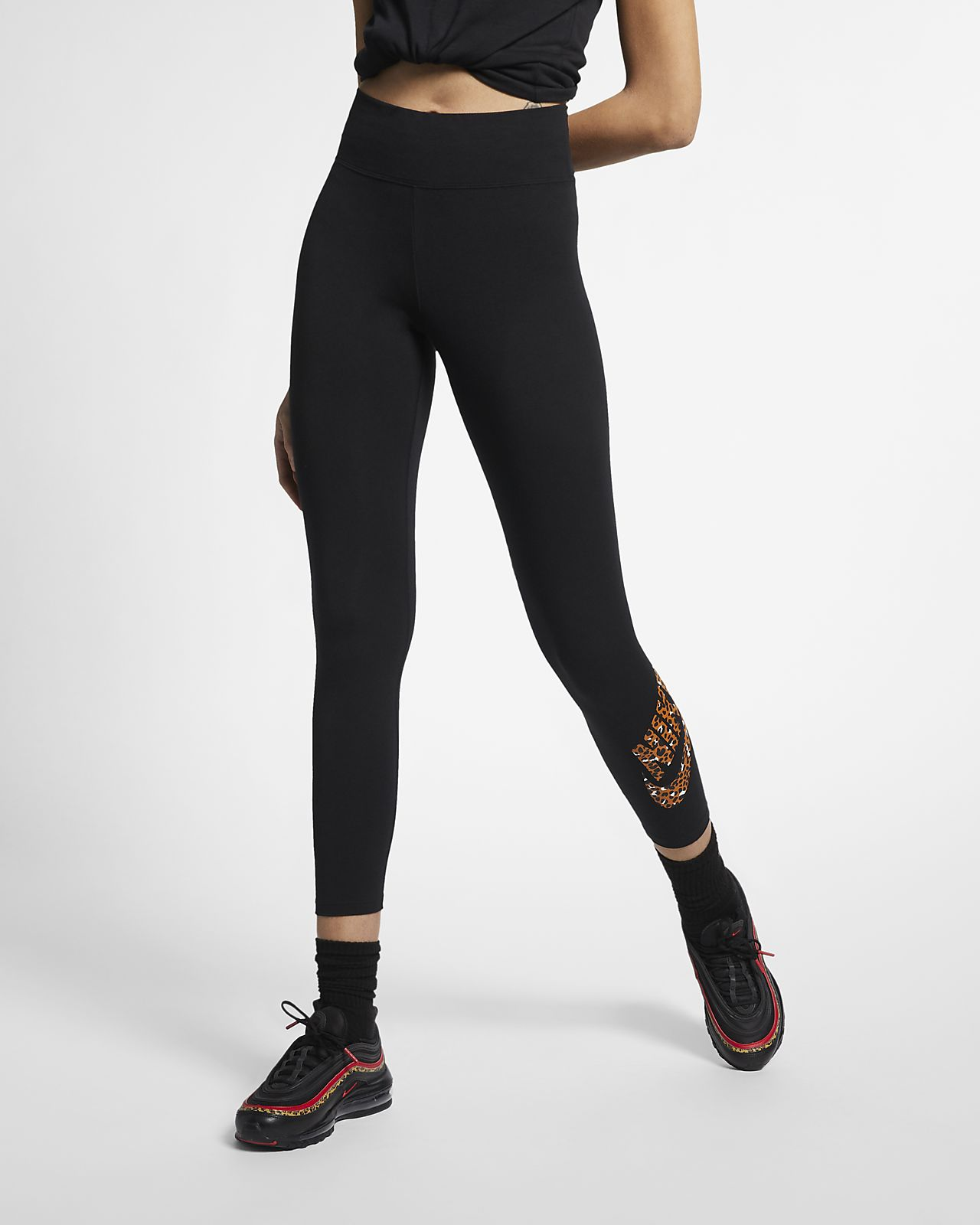 Leggings Nike Sportswear Animal Print för kvinnor