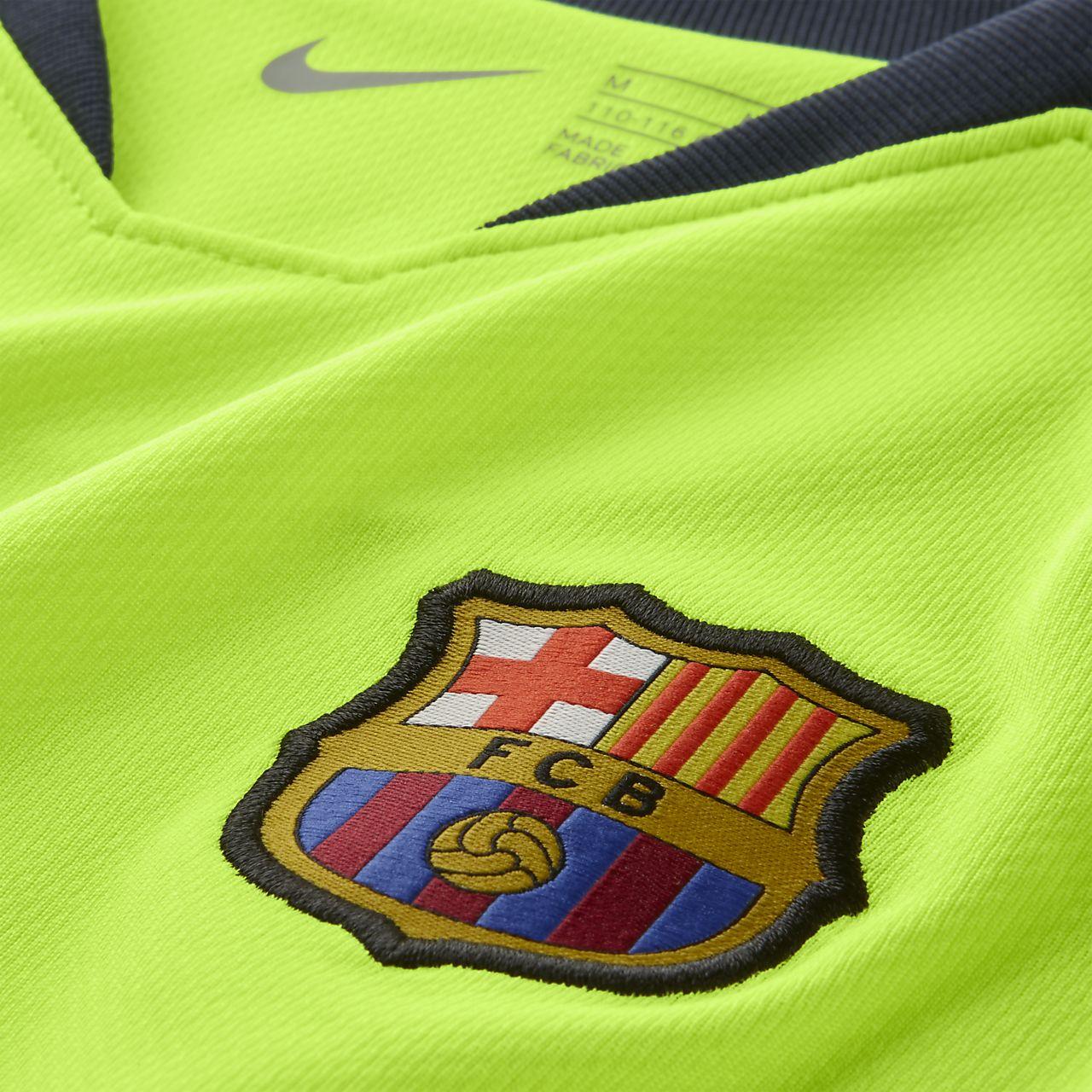 cheap for discount 922bd 8d8e9 ... 2018 19 FC Barcelona Stadium Away fotballdraktsett til små barn