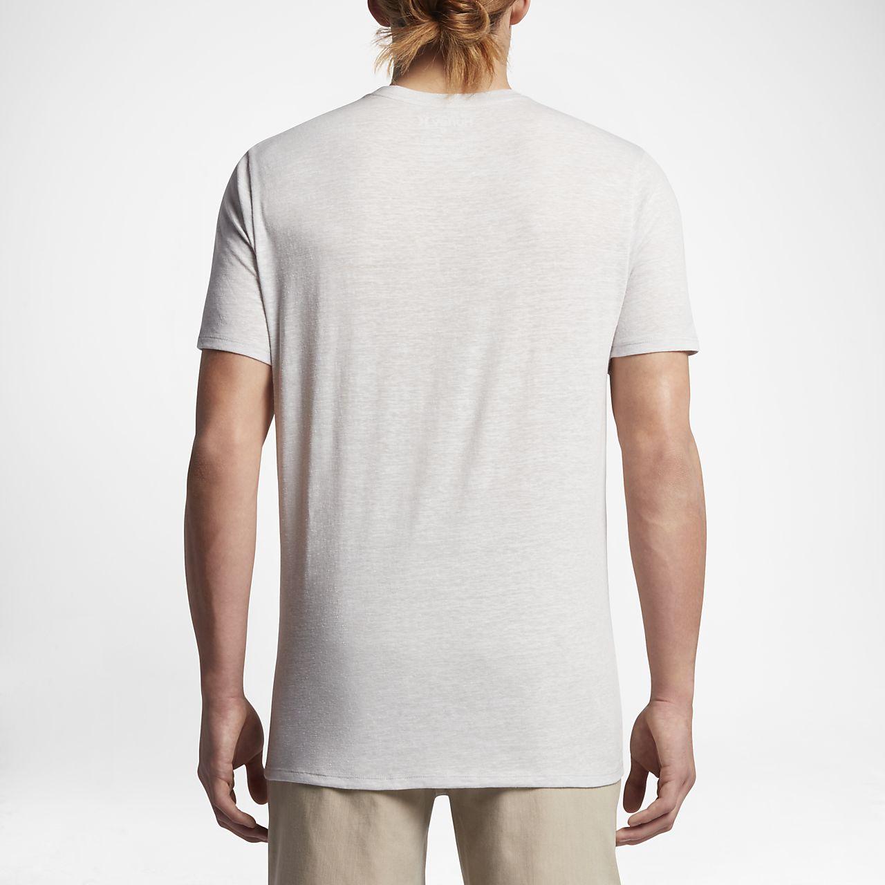 ... Hurley Outline Script Men's T-Shirt