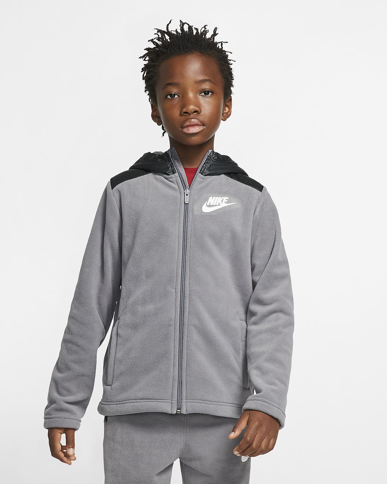 Nike Sportswear Winterized Older Kids' (Boys') Full-Zip Hoodie