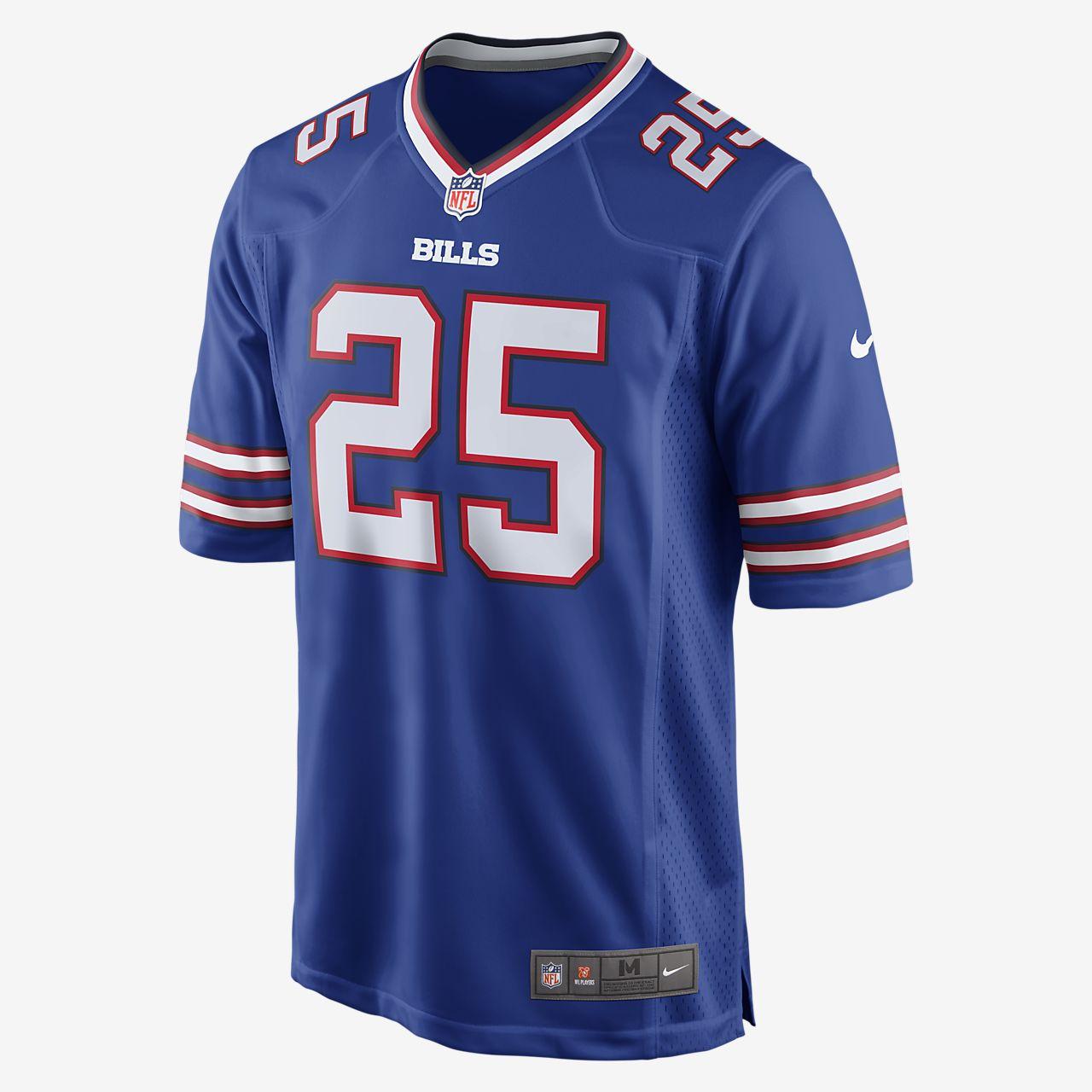best service af1be 7fca8 NFL Buffalo Bills Game Jersey (LeSean McCoy) Men's American Football Jersey