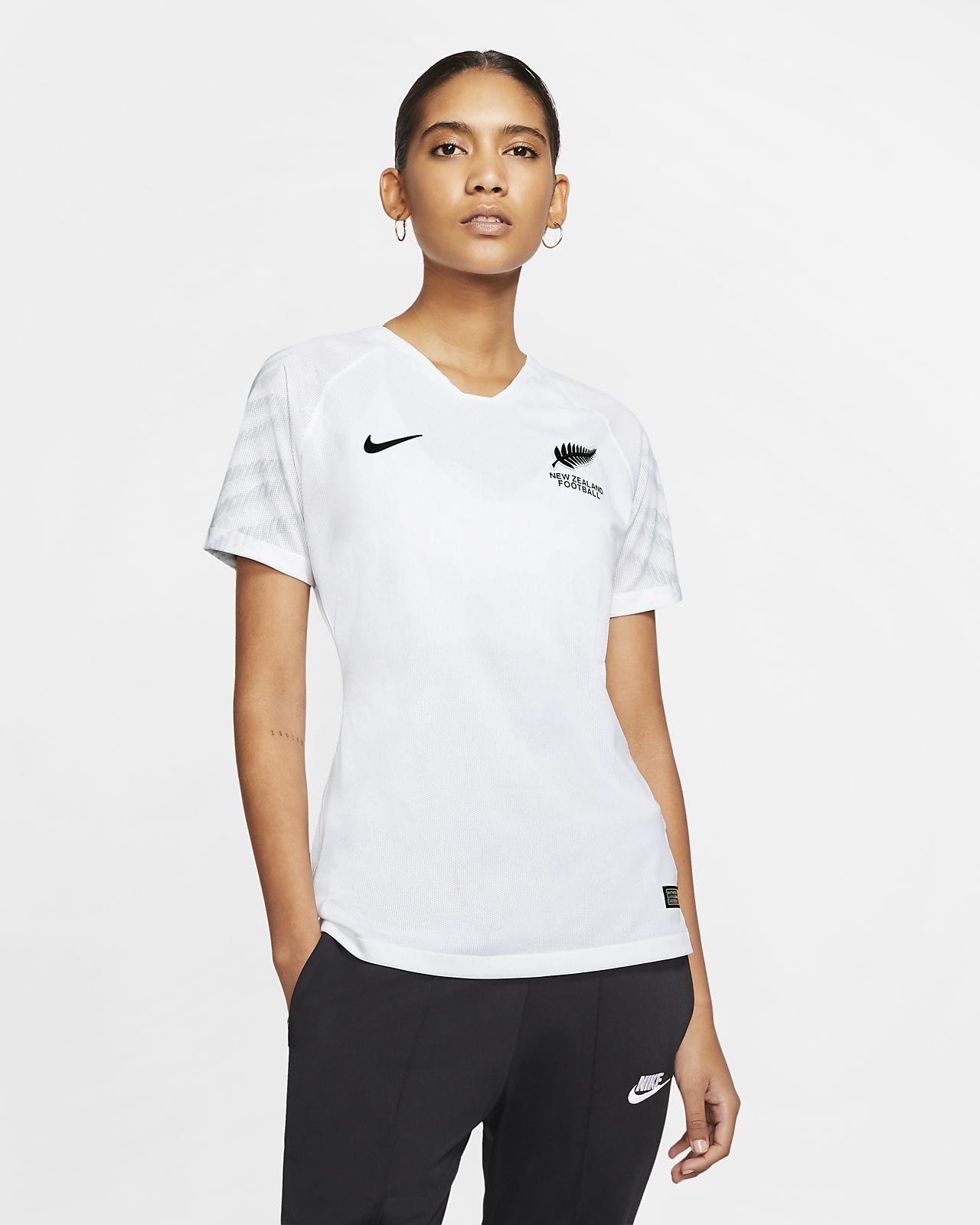 Camiseta de fútbol para mujer New Zealand 2019 de local
