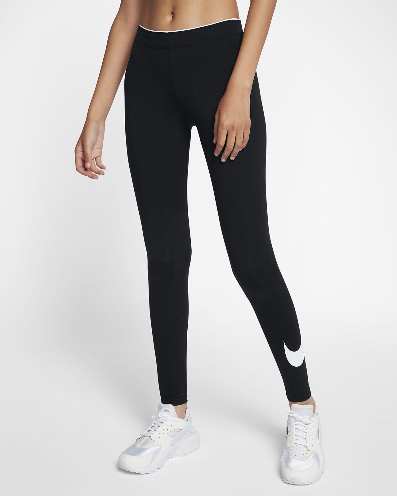 nike roshe run all black 42 leggings
