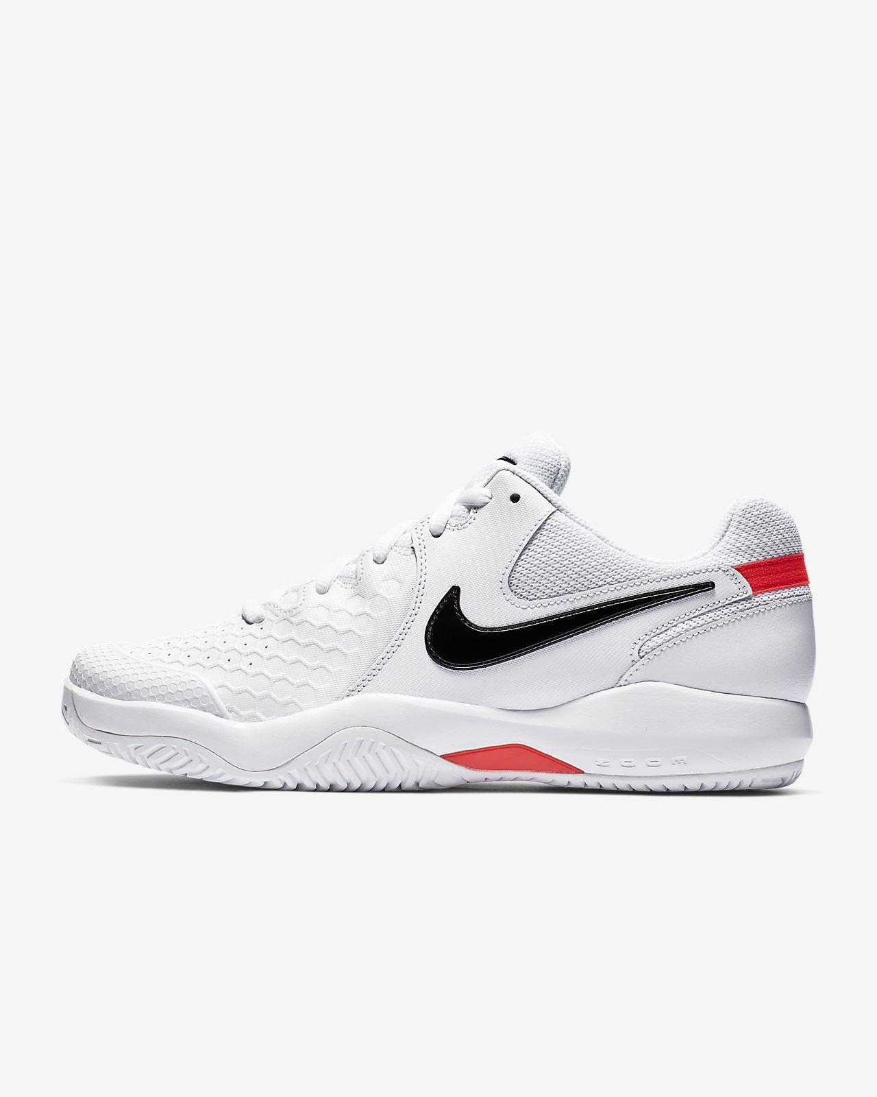 De Dure Surface Air Tennis Chaussure Zoom Nikecourt Pour Resistance 5L34AjRq