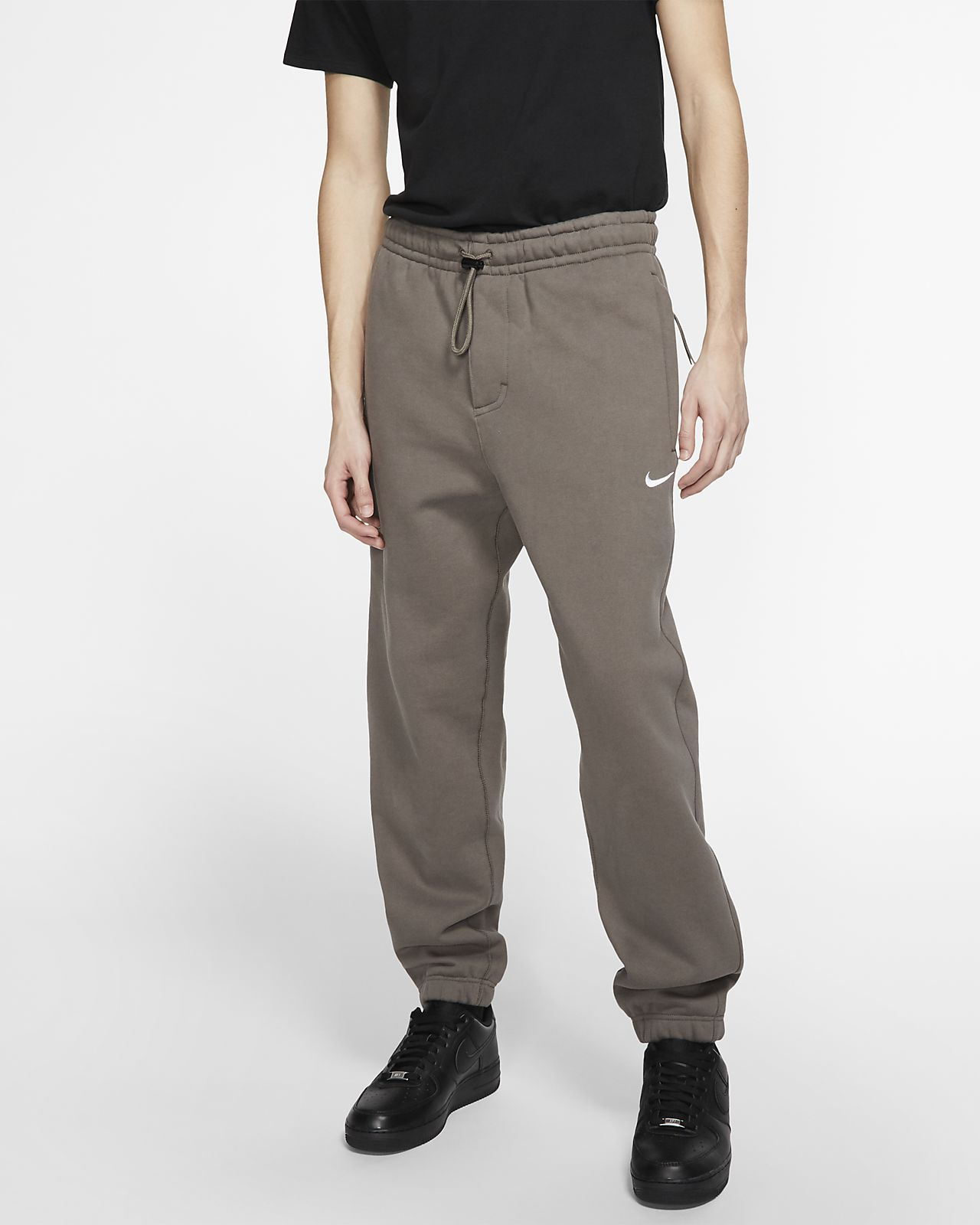 Calças de lã cardada NikeLab Collection para homem