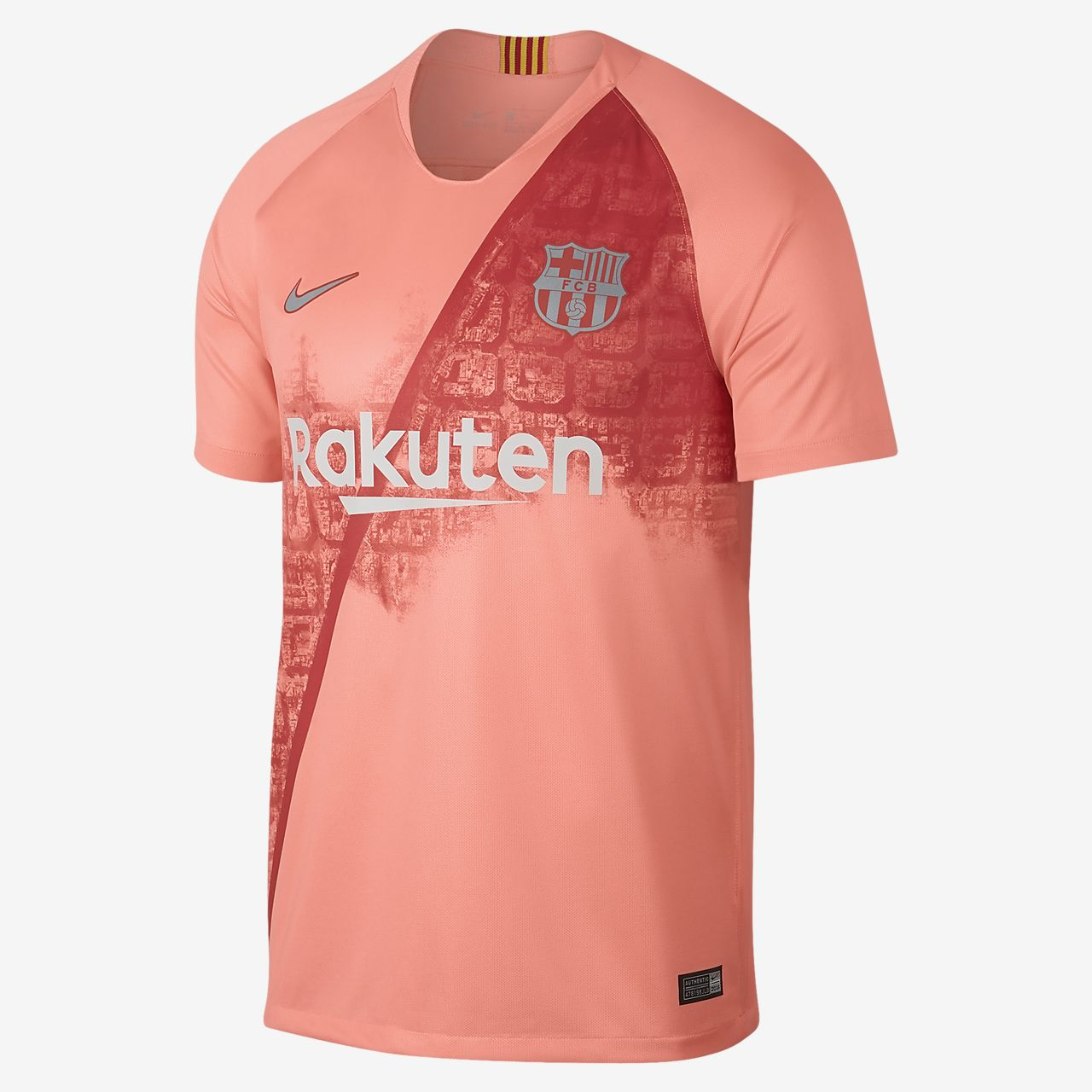 Camiseta de fútbol para hombre alternativa Stadium del FC Barcelona 2018/19