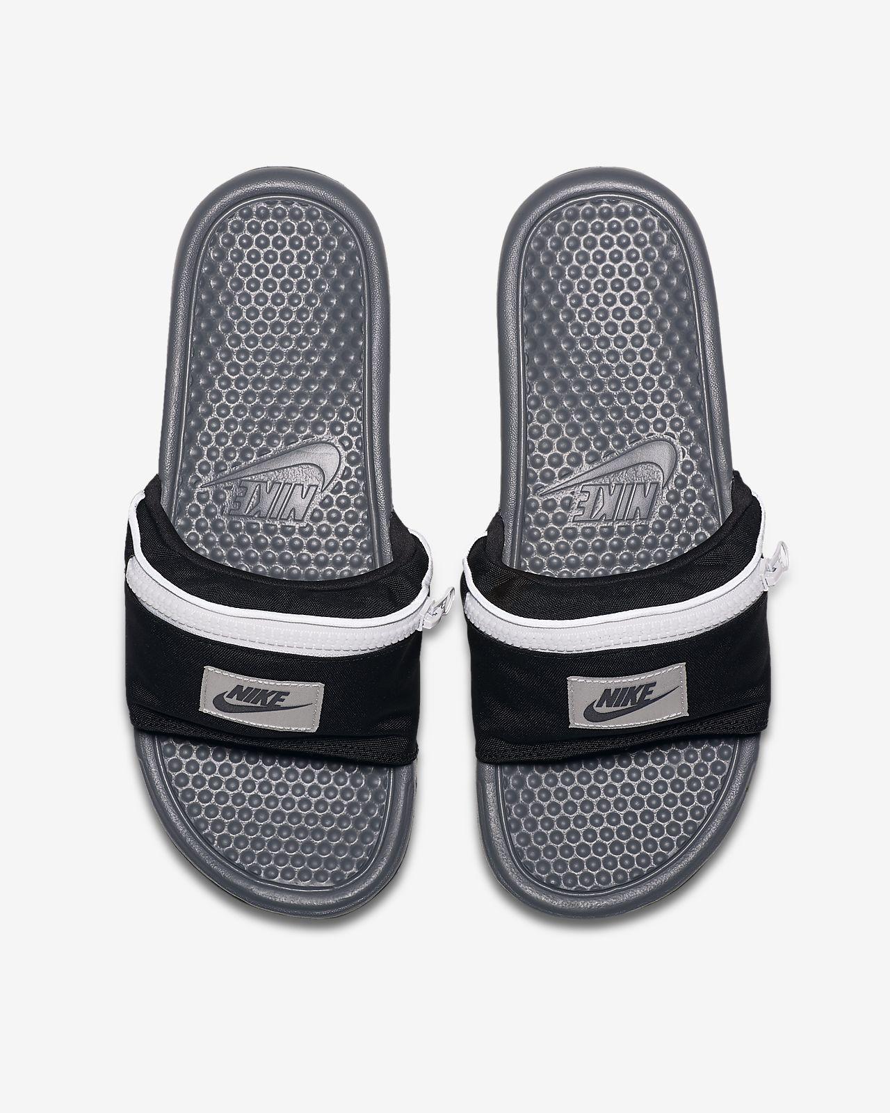 Pánské pantofle Nike Benassi JDI Fanny Pack