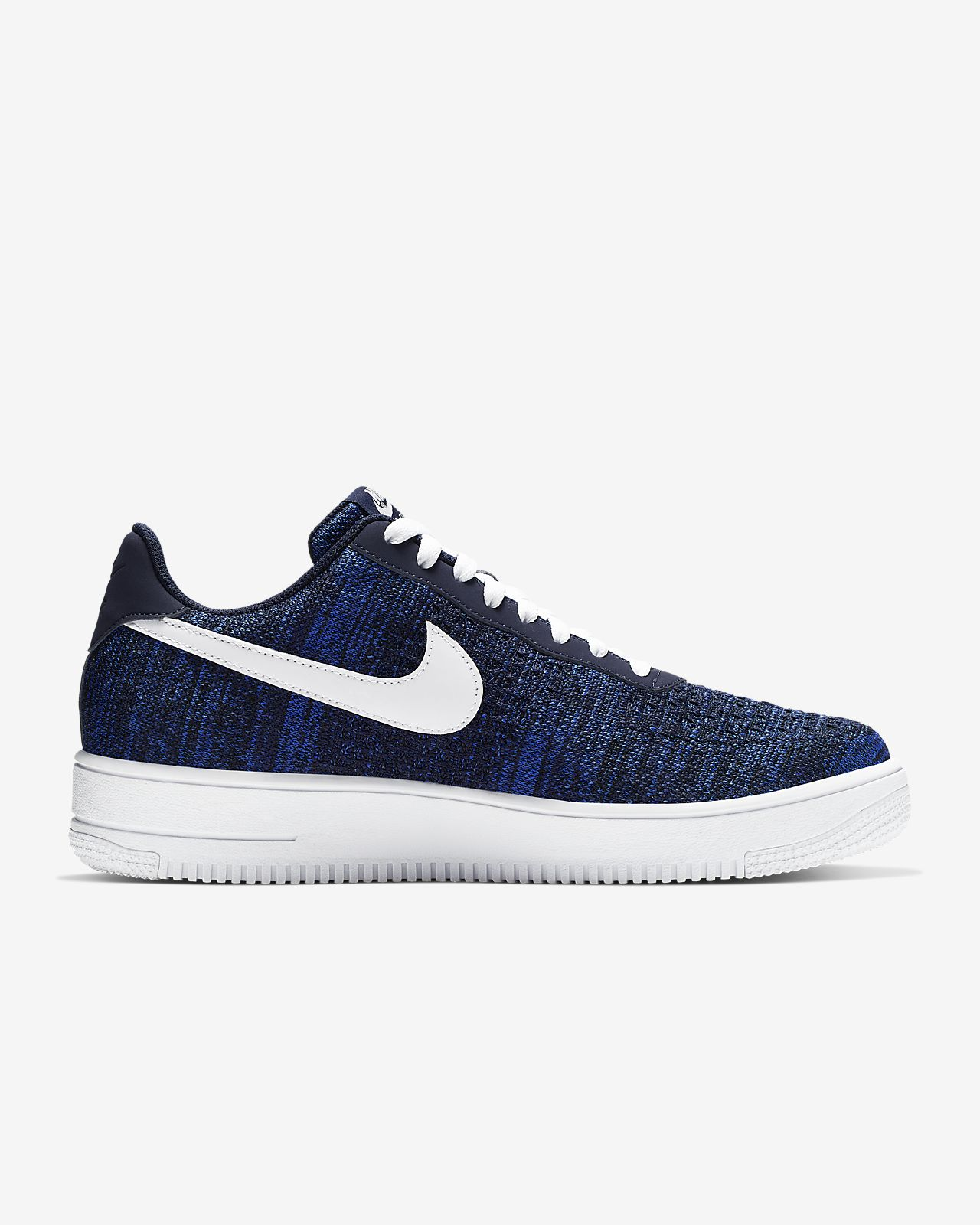 air force 1 flyknit bleu