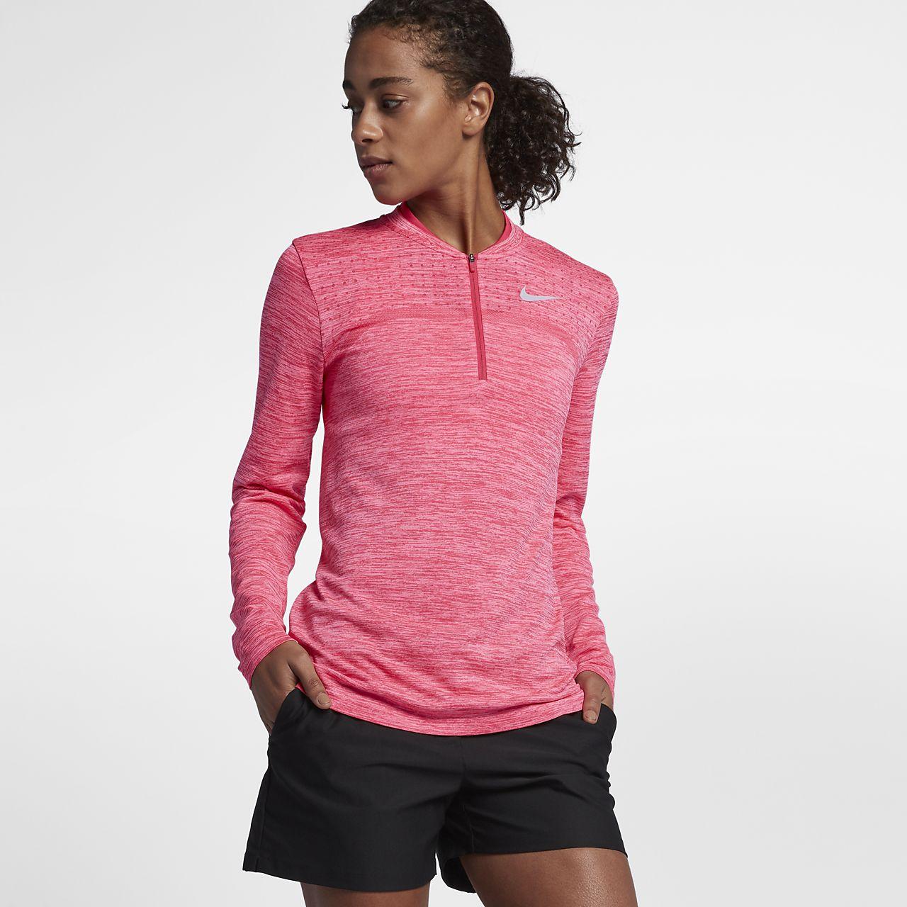 ... Nike Dry Women's Half-Zip Golf Top