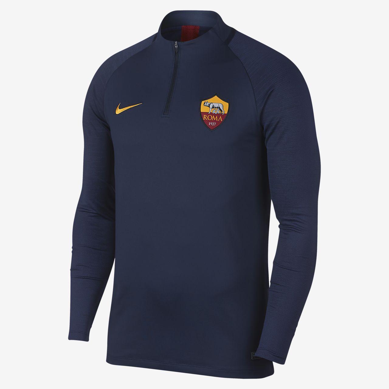 Мужская футболка для футбольного тренинга Nike Dri-FIT A.S. Roma Strike