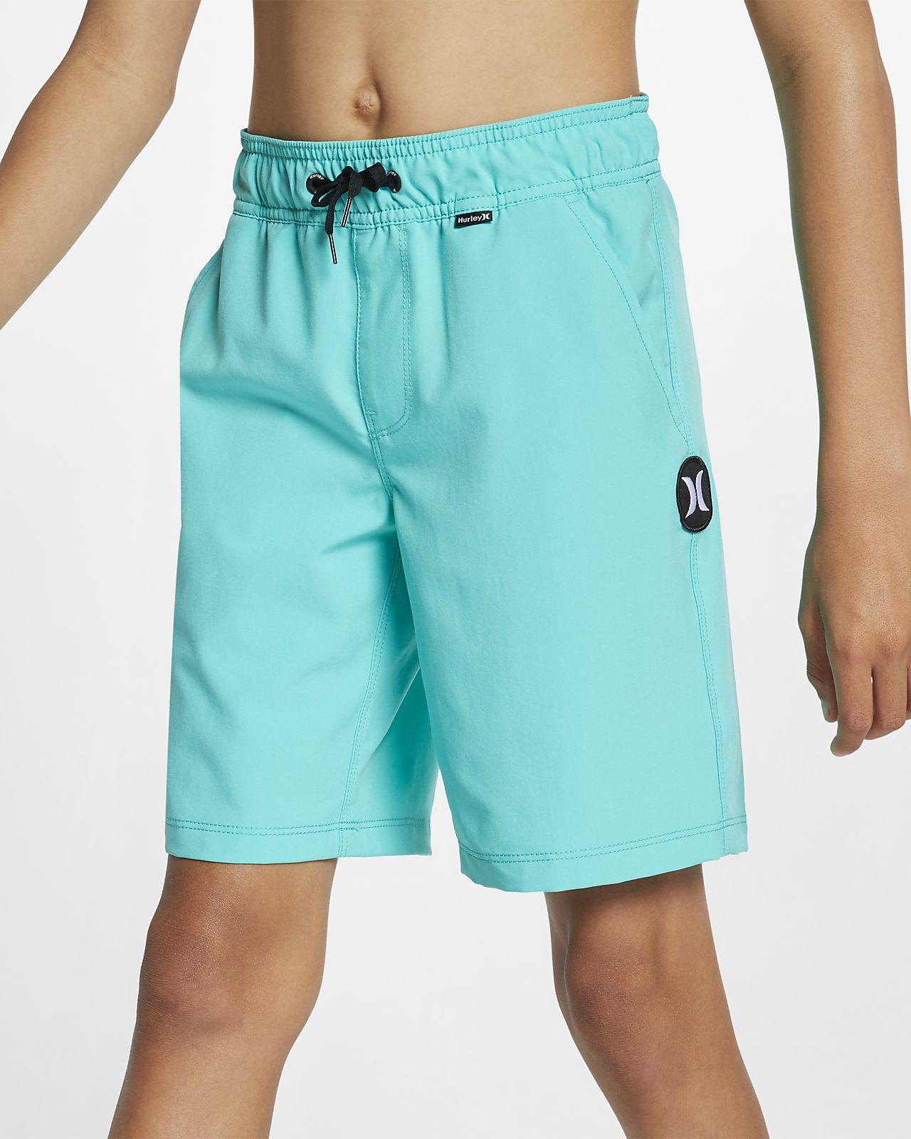 Hurley One and Only Volley Boardshorts voor jongens (41 cm)