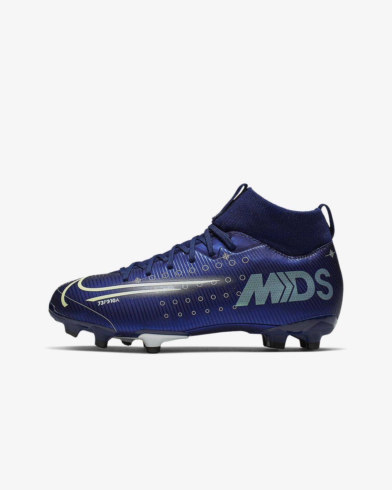 Nike Jr. Mercurial Superfly 7 Academy MDS MG Fußballschuh für verschiedene Böden für jüngere/ältere Kinder