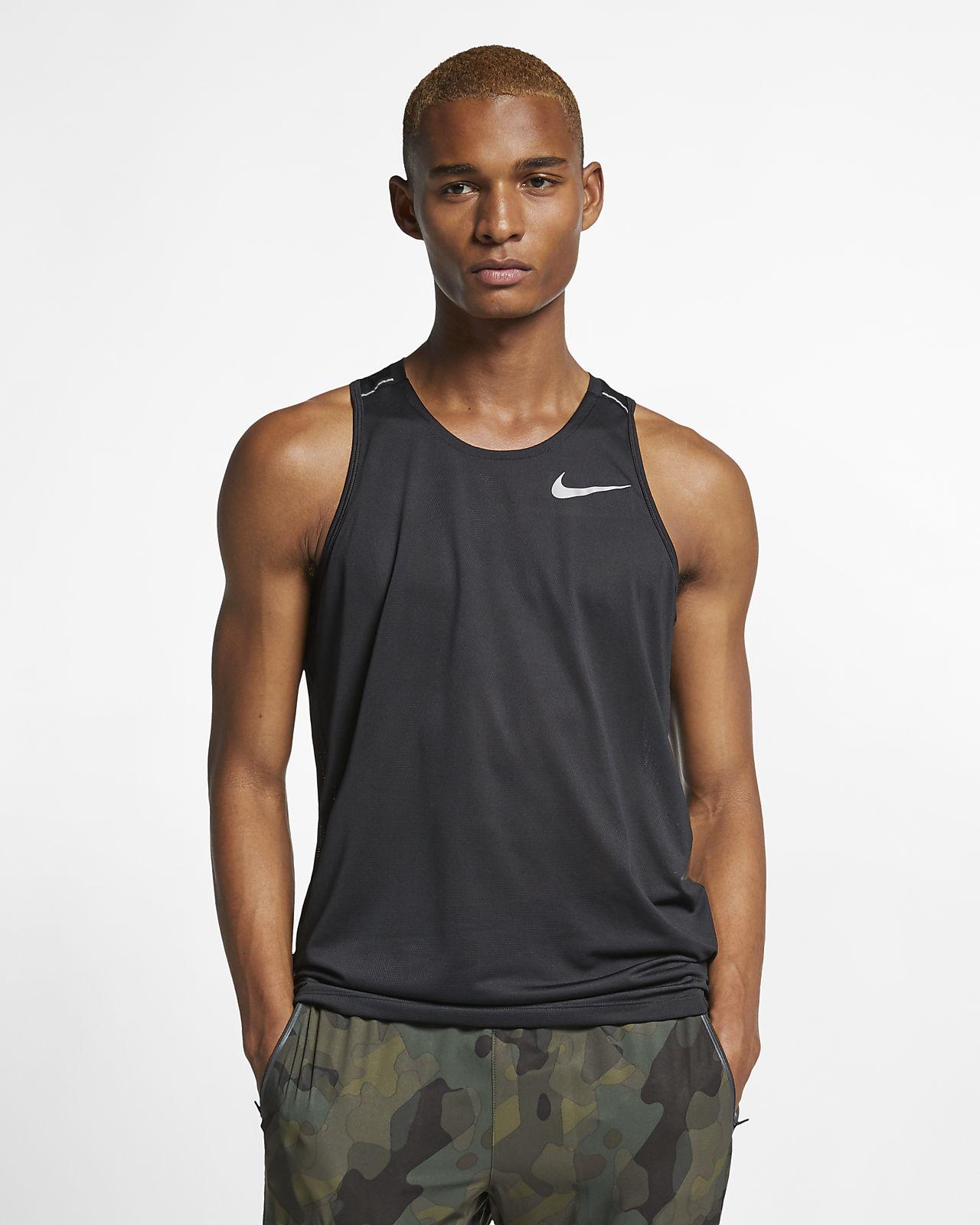 c971d3f4 Nike Dri-FIT Miler Men's Running Tank. Nike.com