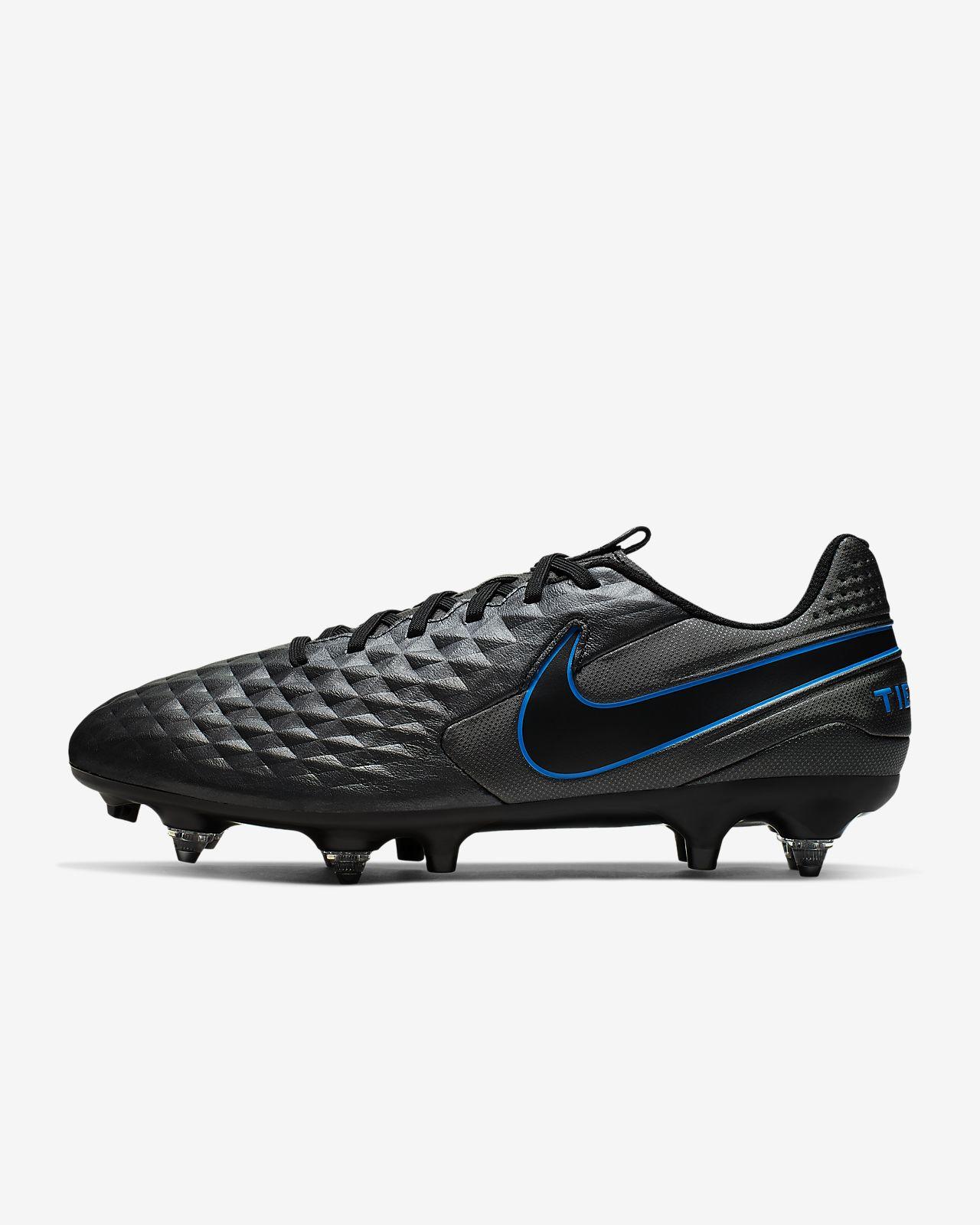 Chaussure de football à crampons pour terrain gras Nike Tiempo Legend 8 Academy SG-PRO Anti-Clog Traction