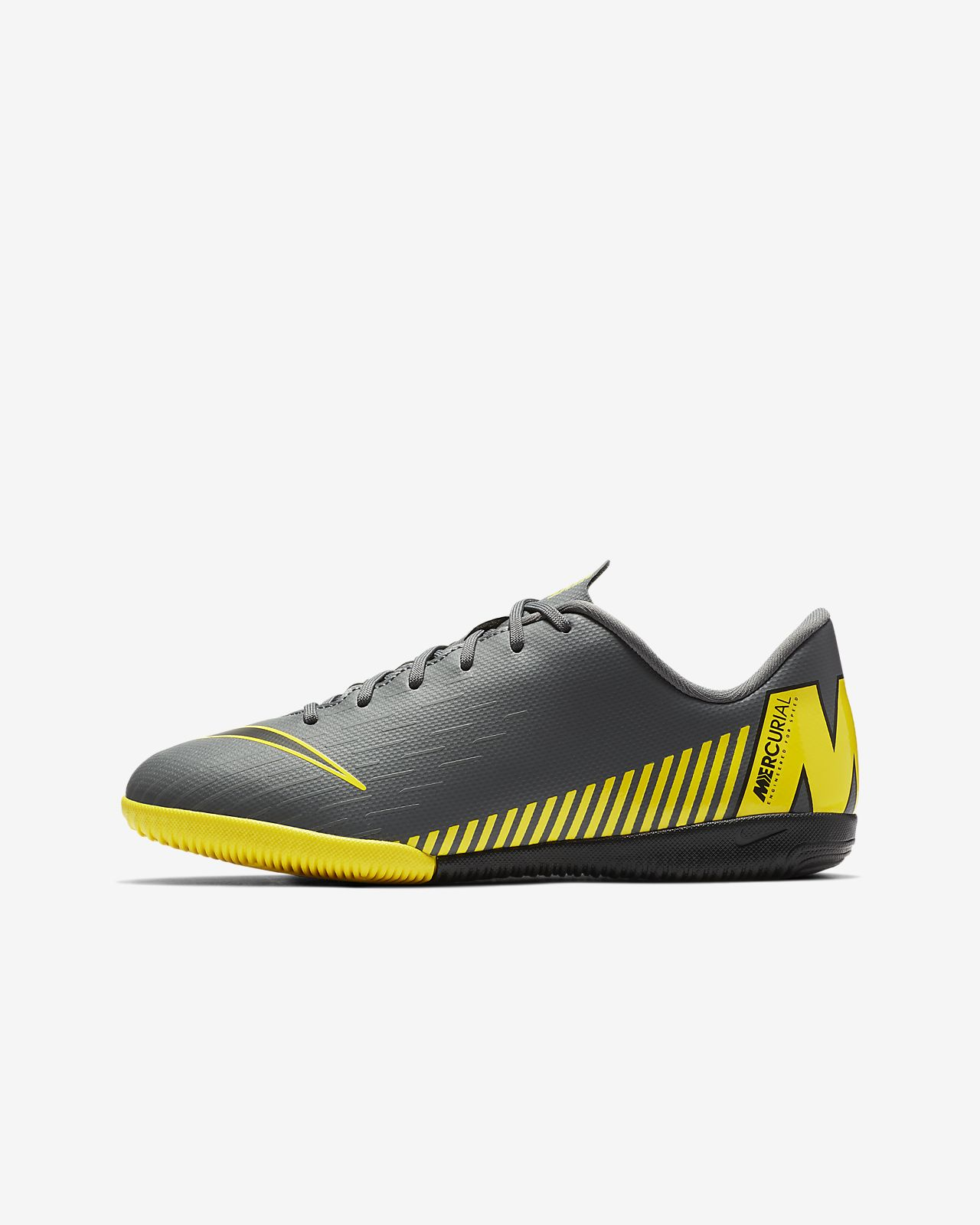 Nike Jr. VaporX 12 Academy IC Game Over Little/Big Kids' Indoor/Court Soccer Cleat